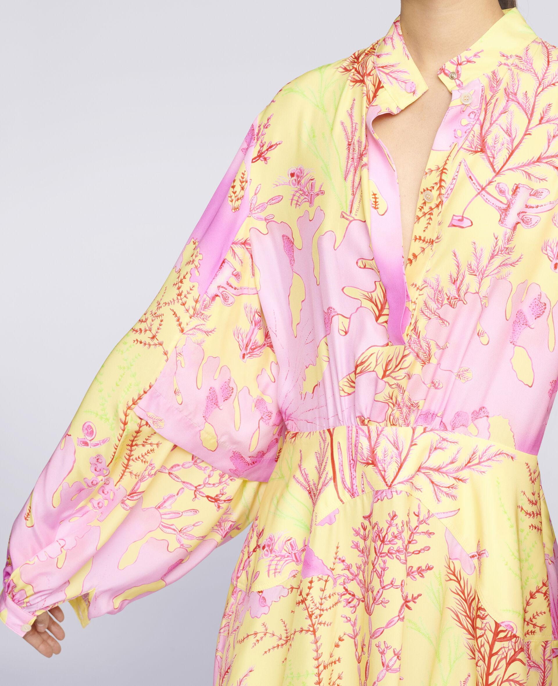 Alyssa Silk Dress-Multicolour-large image number 3