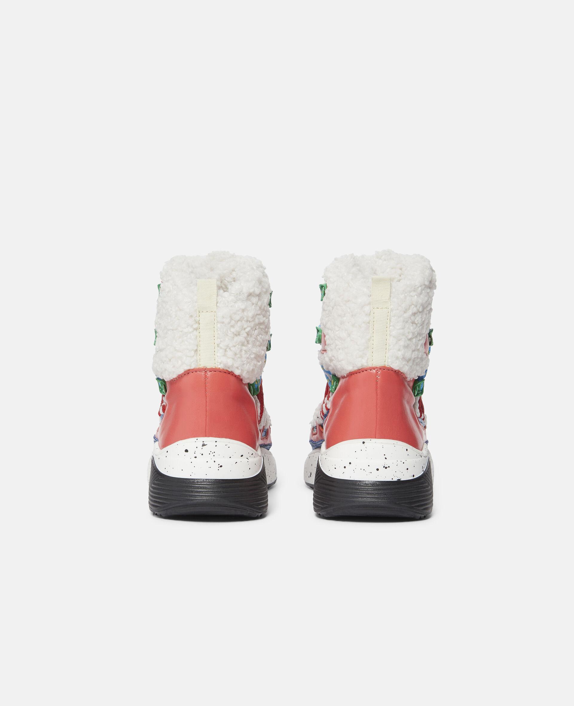 拼色登山靴-白色-large image number 2
