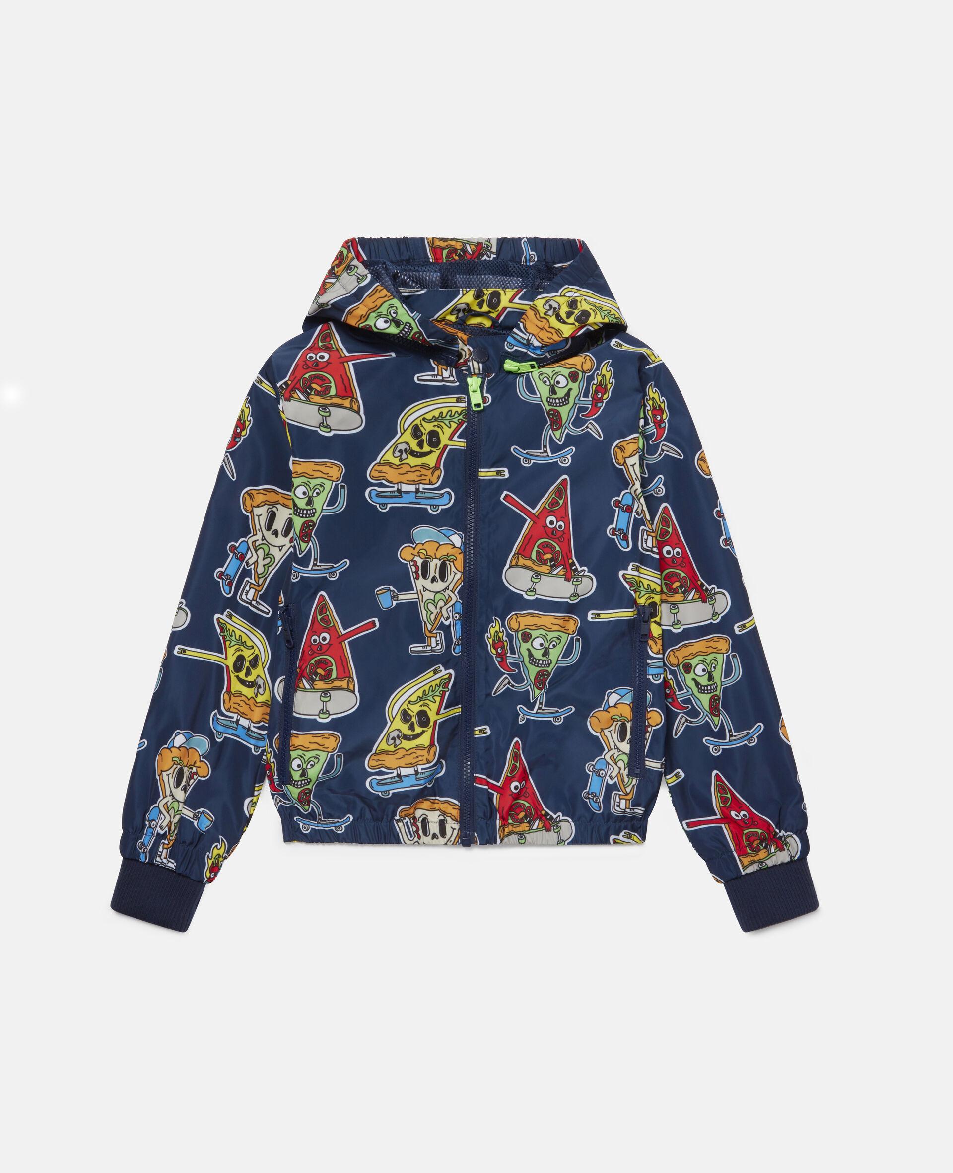 Pizza Skaters Jacket -Blue-large image number 0