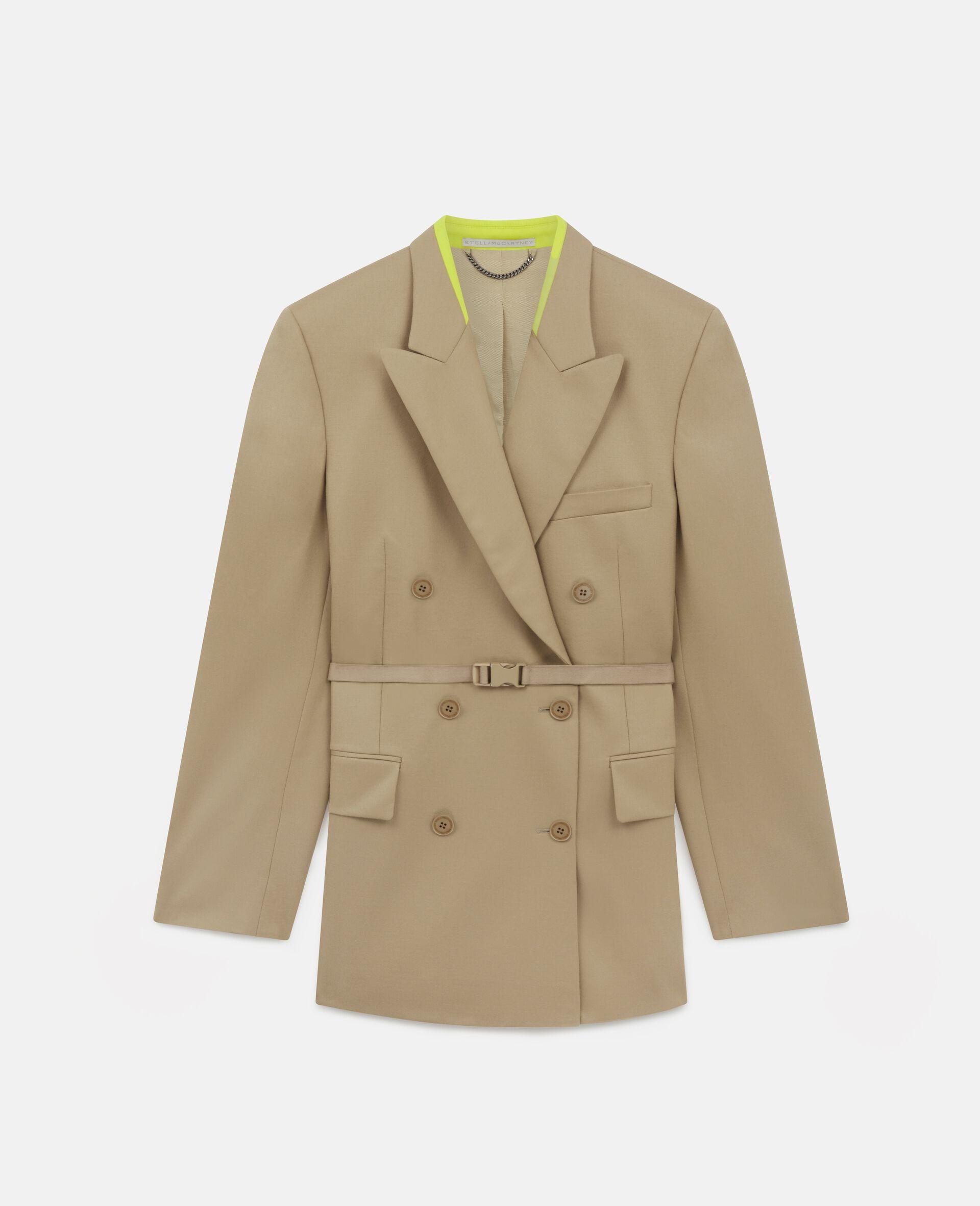Lola Tailored Jacket-Brown-large image number 0
