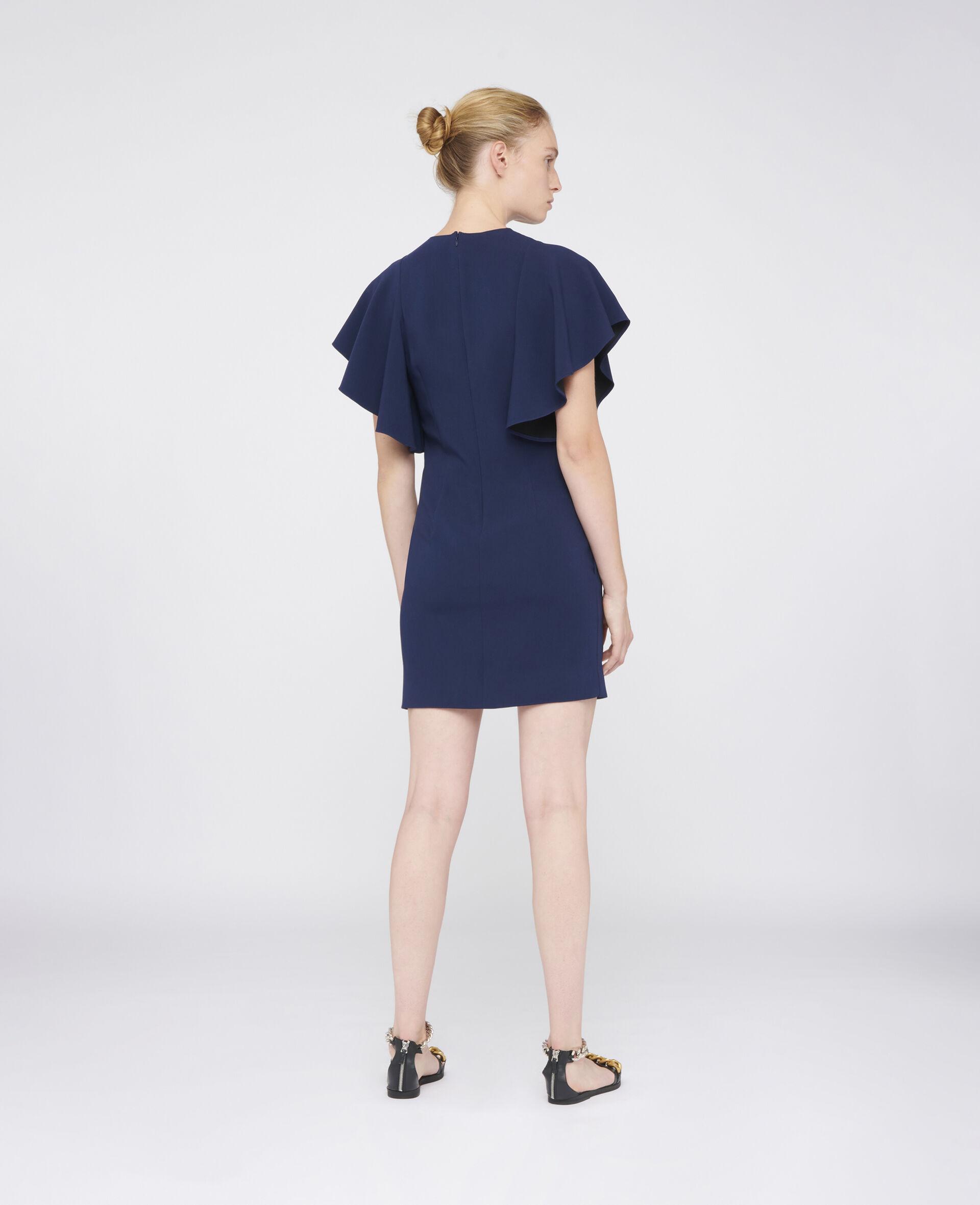 Lana Mini Dress-Blue-large image number 2