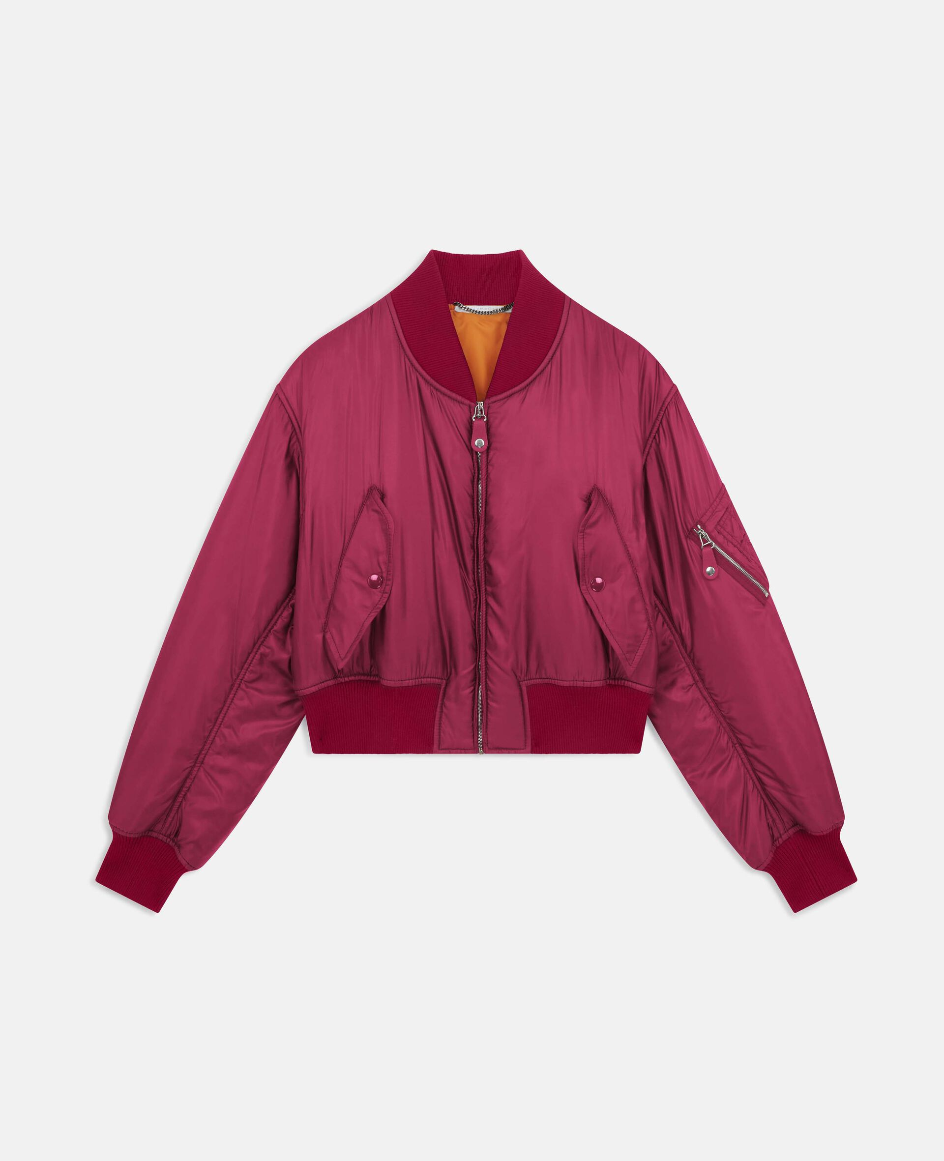 Giacca Bomber Vina -Rosso-large image number 0