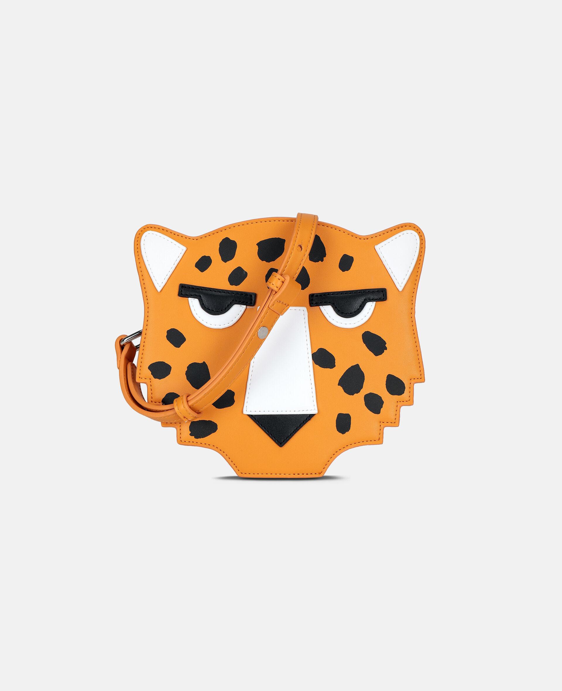 Cheetah Shoulder Bag -Orange-large image number 0
