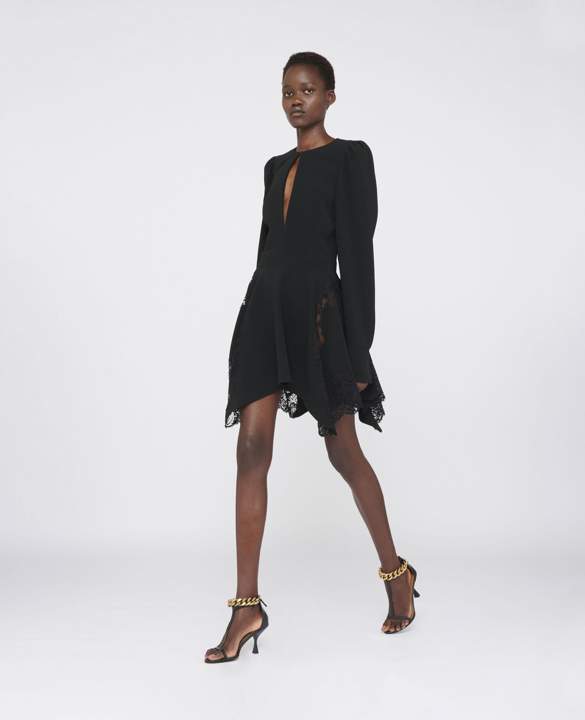 Celeste Mini Dress-Black-large image number 1