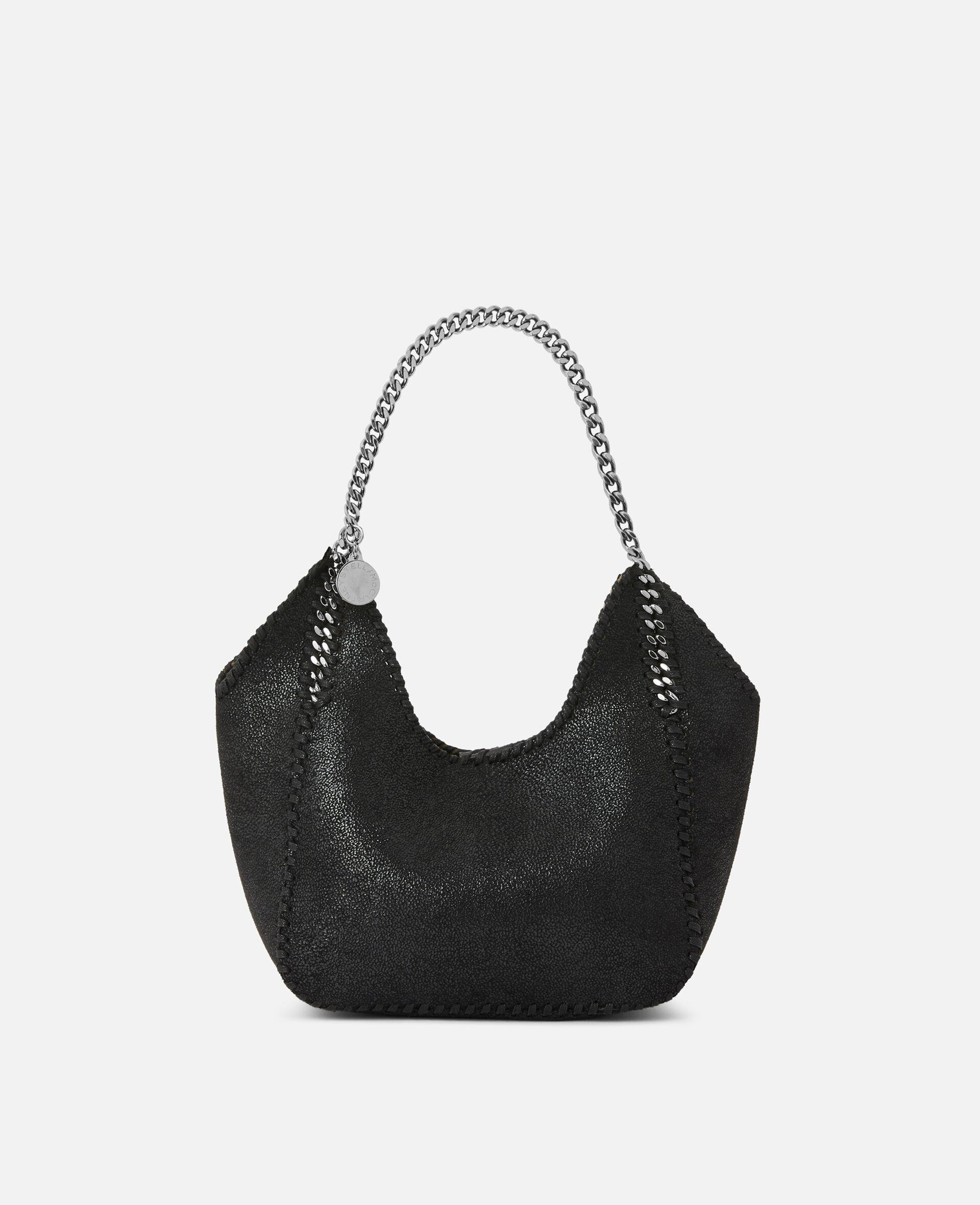 Mini Falabella Tote Bag -Black-large image number 0