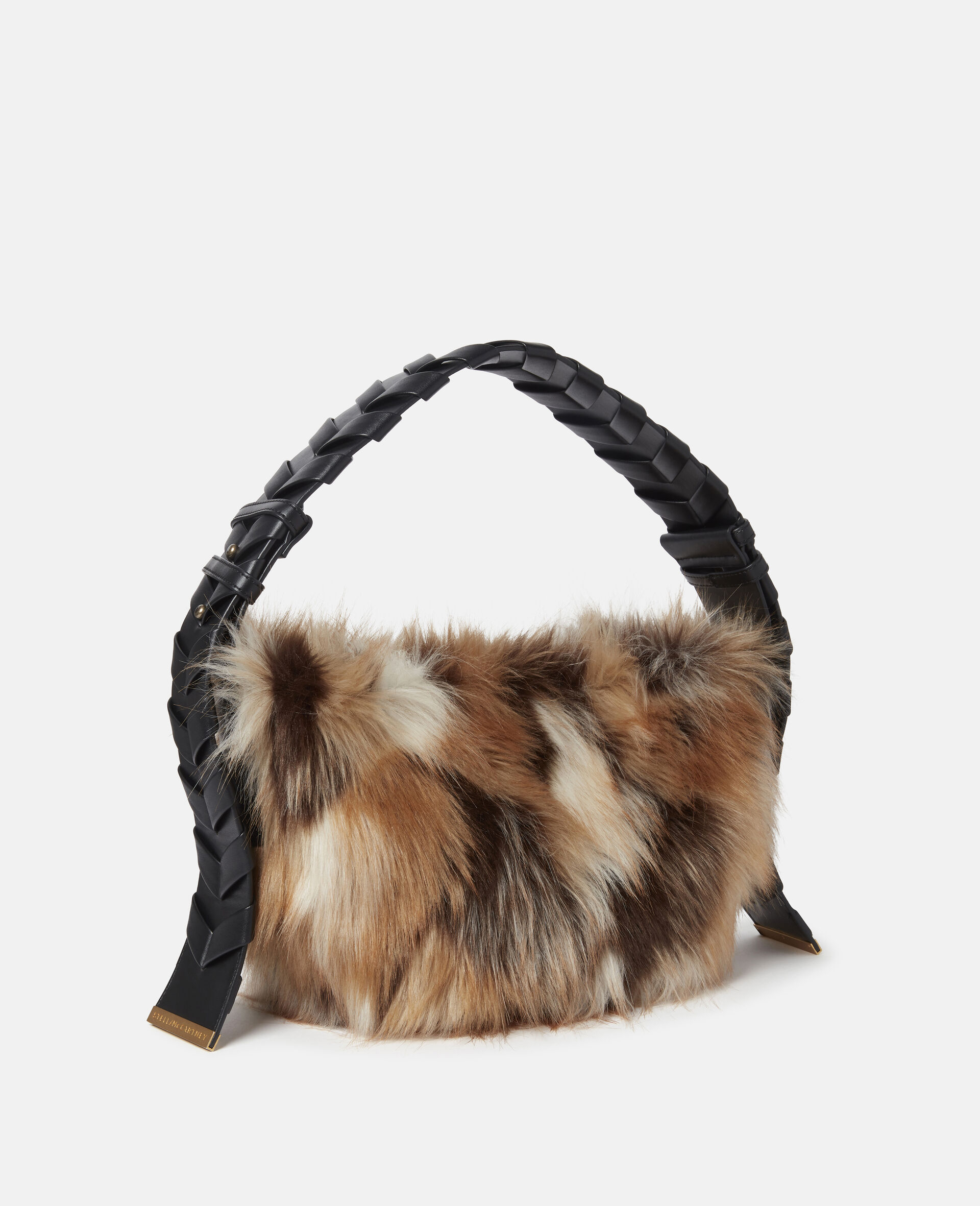 Small Hobo FFF Shoulder Bag-Multicolour-large image number 1
