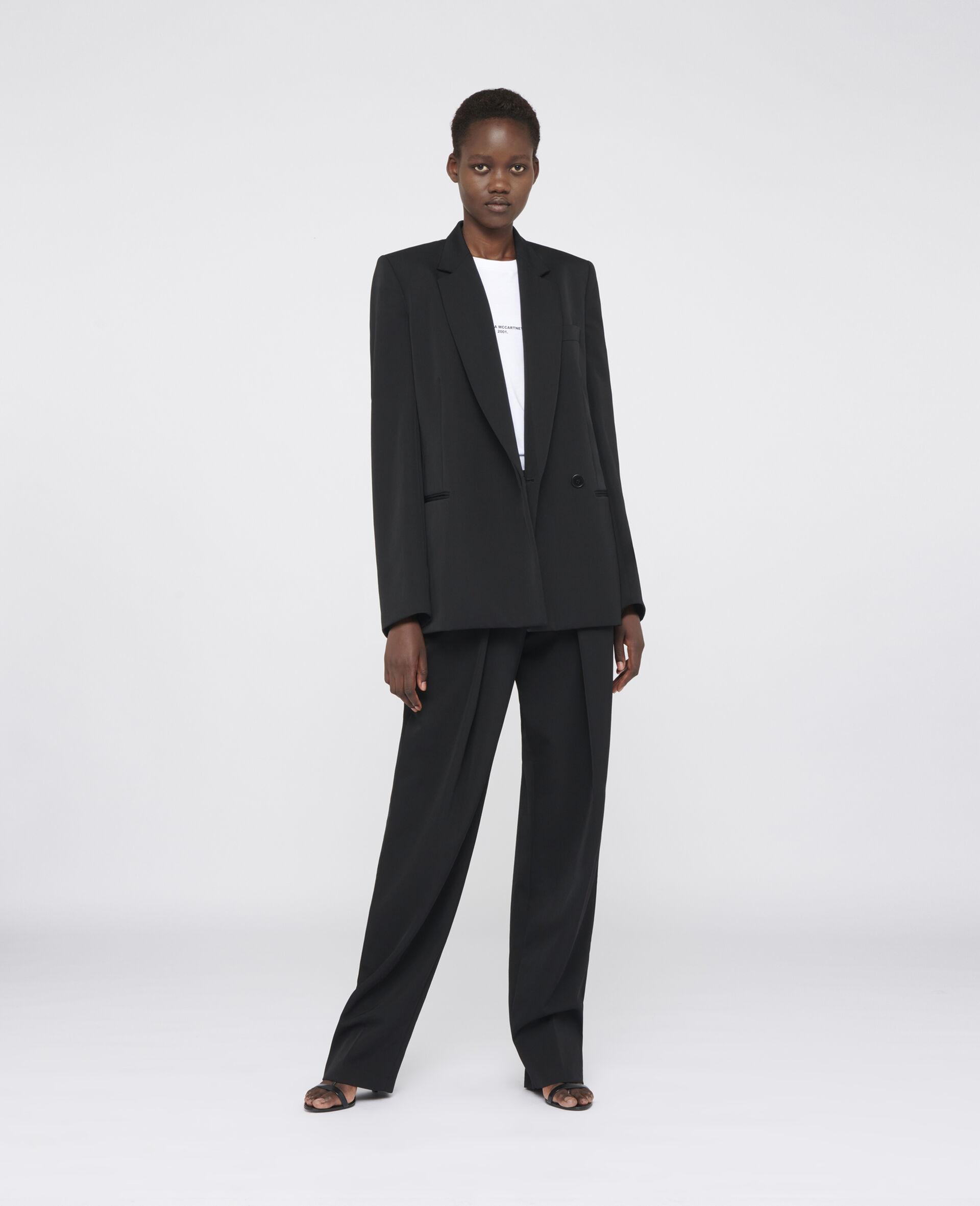 Delilah Tailored Jacket-Black-large image number 1