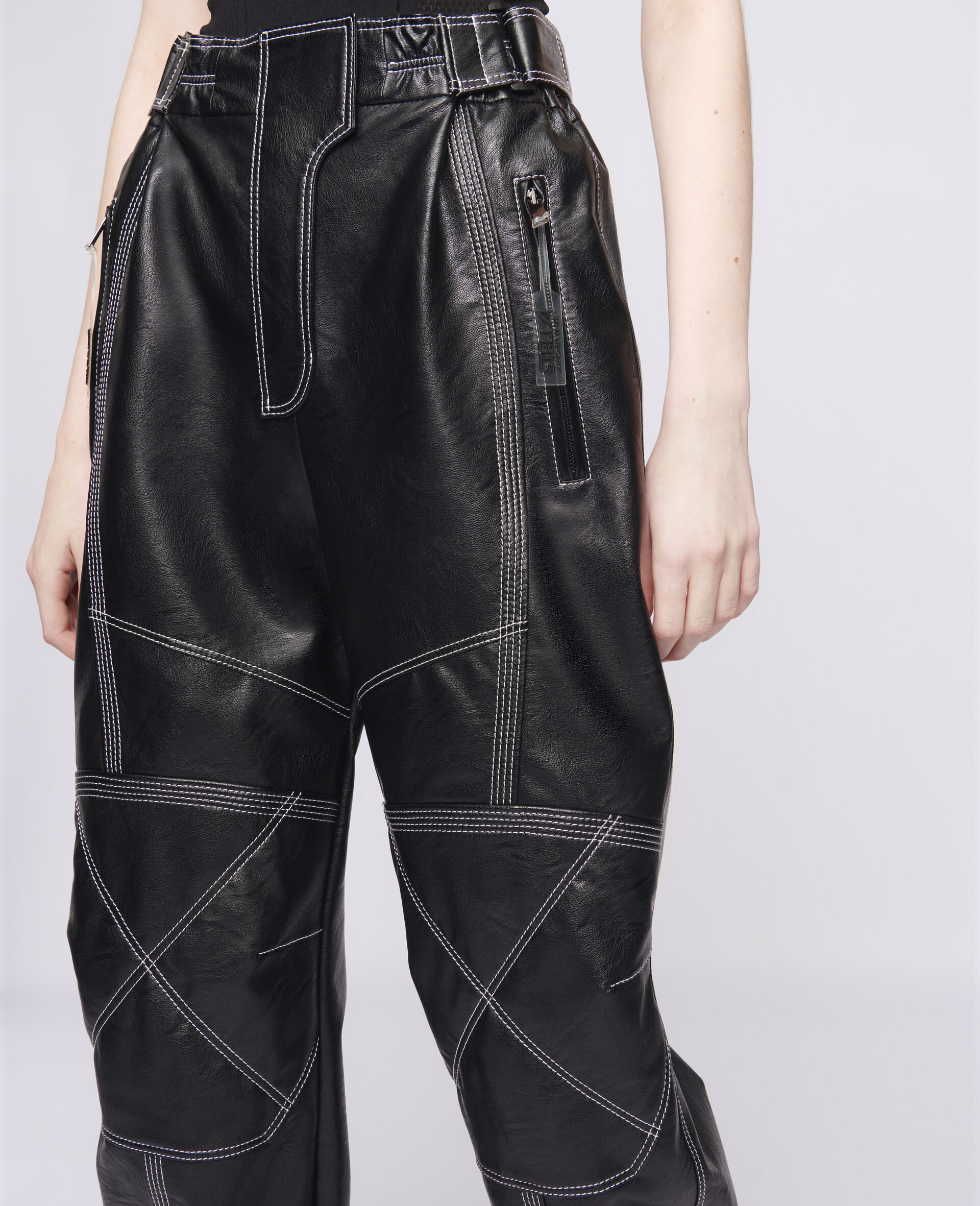 Lacey Trousers-Black-large image number 3