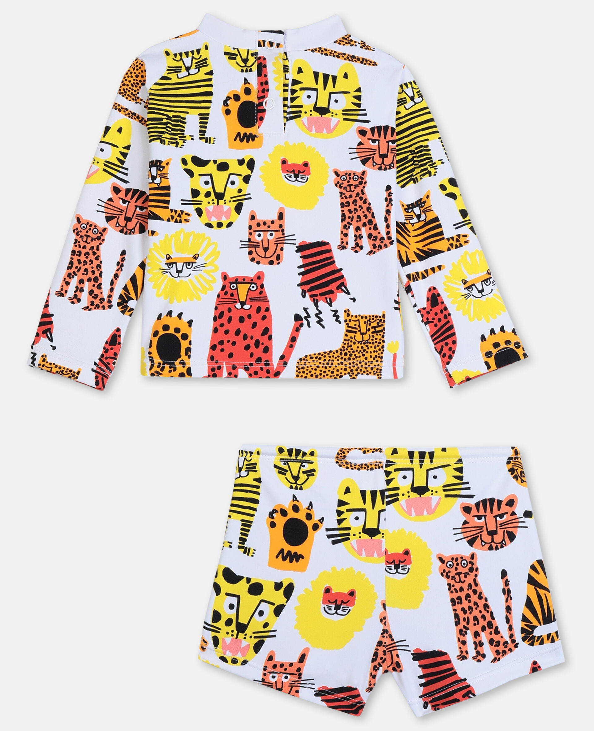Wild Cats Swim Set -Yellow-large image number 4
