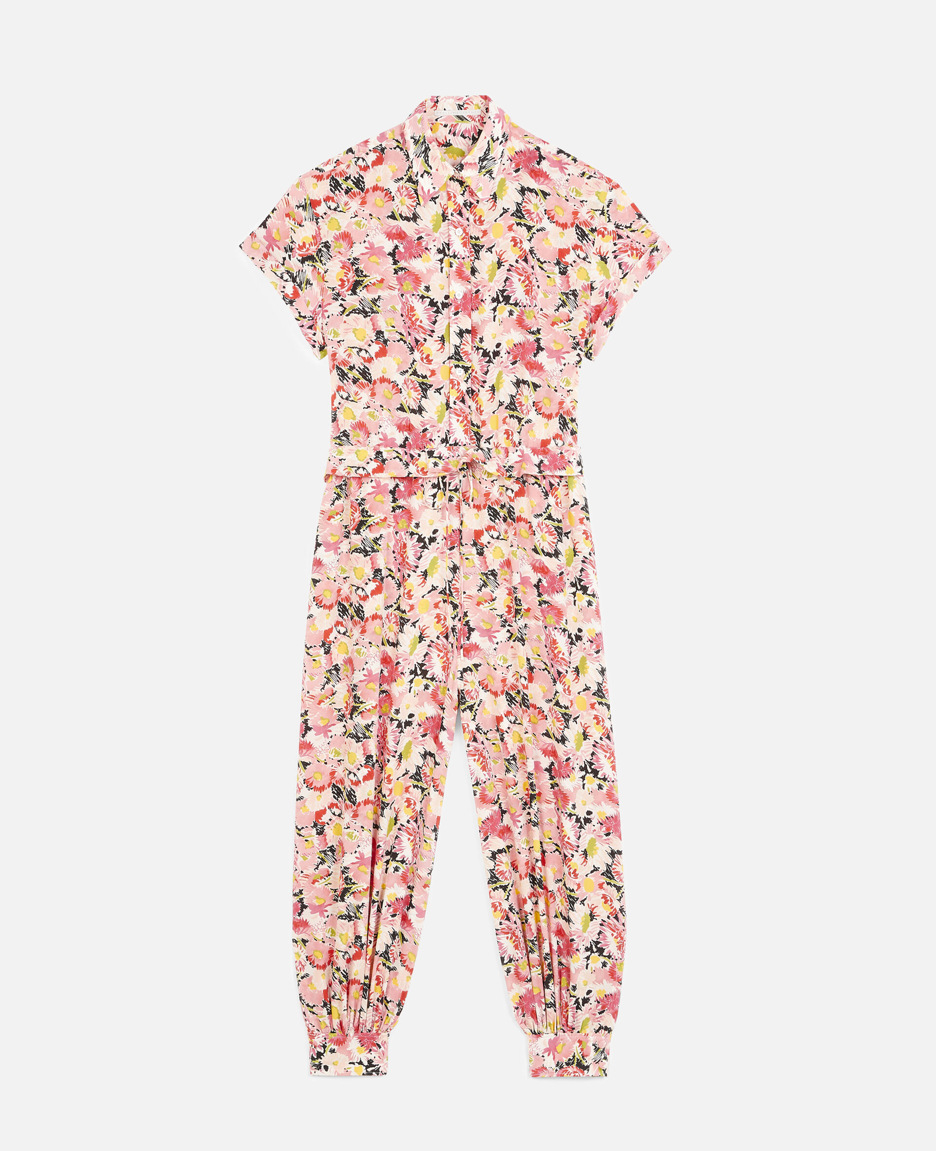 Johanna Silk Jumpsuit-Multicolour-large image number 0