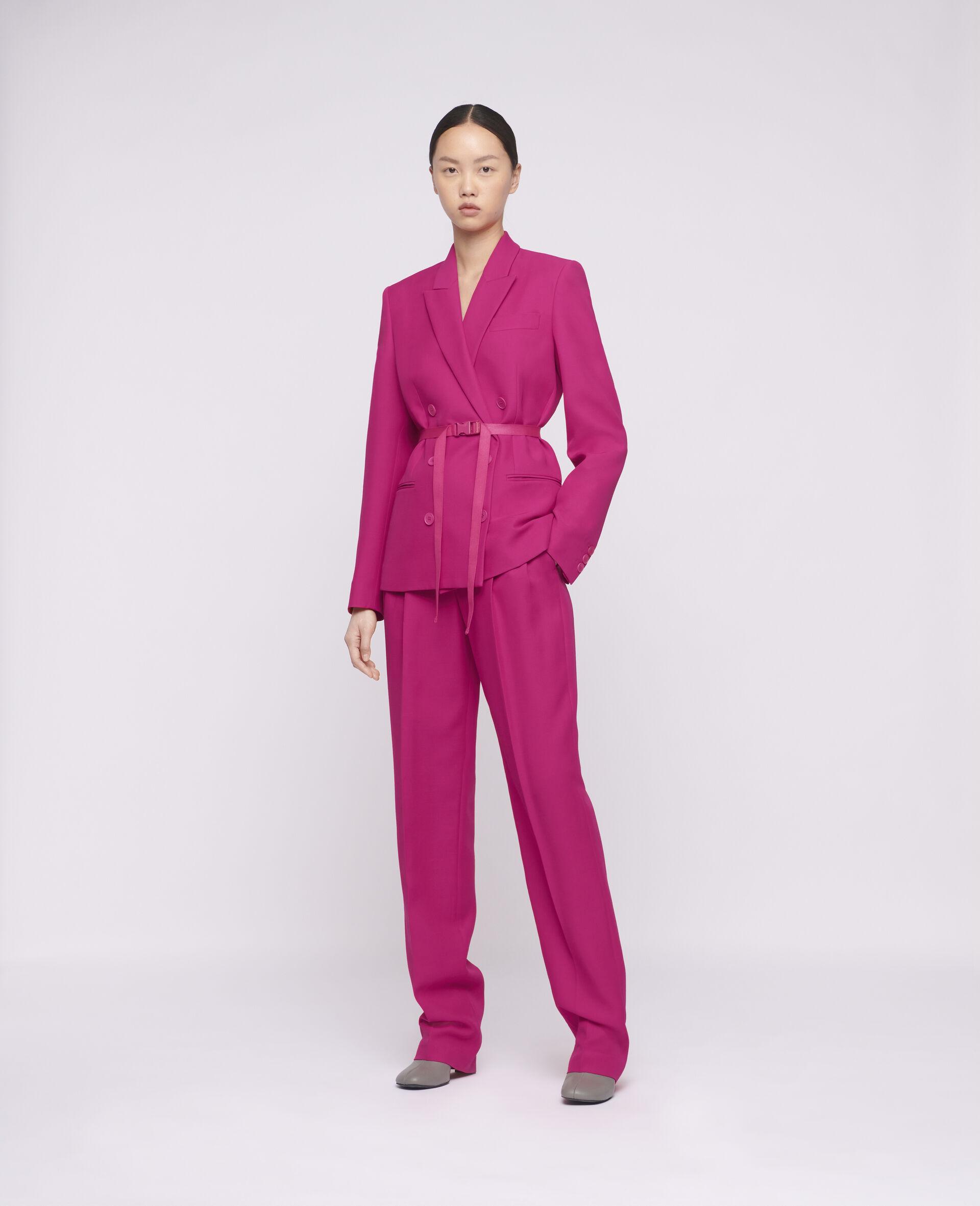 Lisa Tailored Jacket-Pink-large image number 1