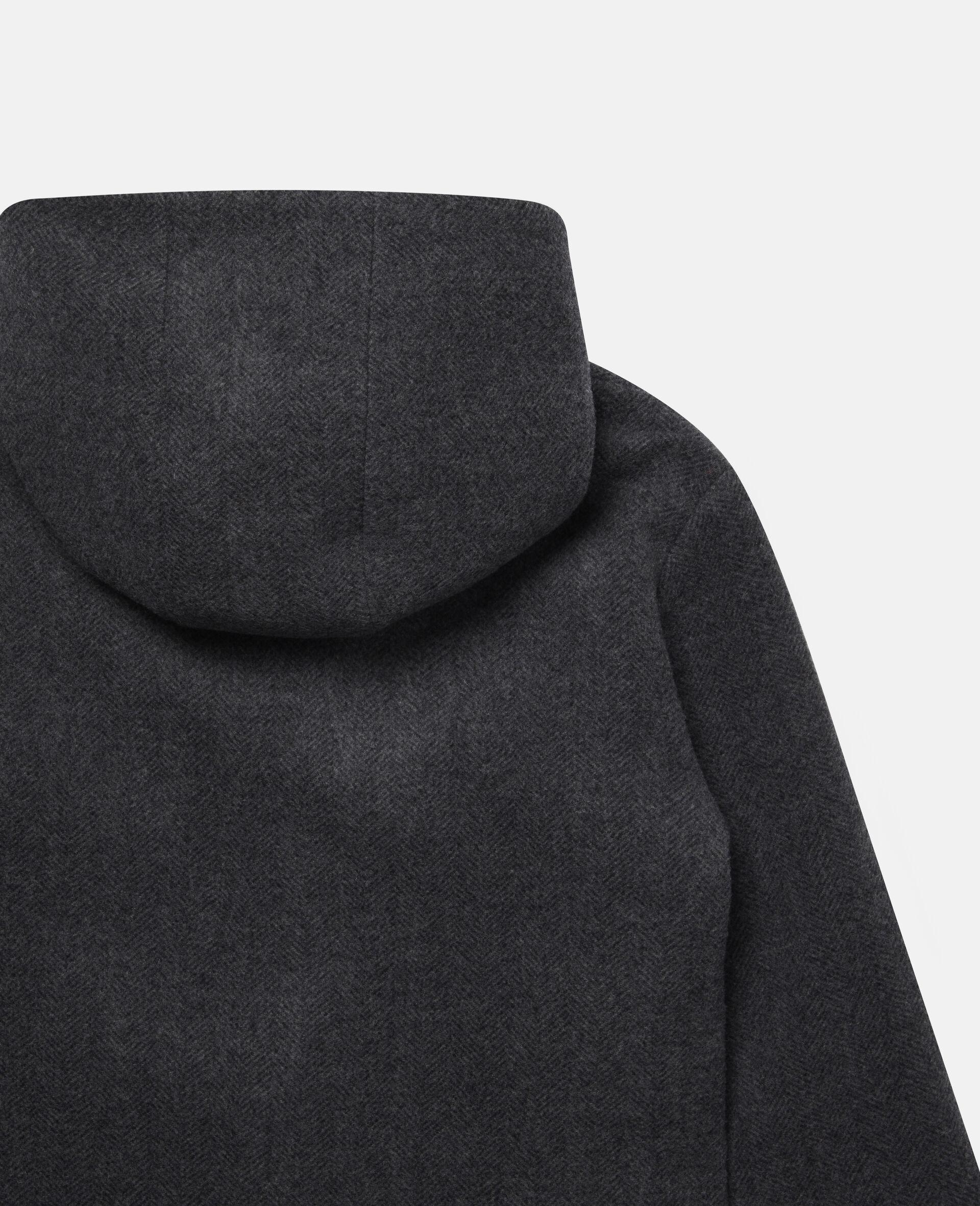Pencils Toggle Wool Coat -Grey-large image number 2