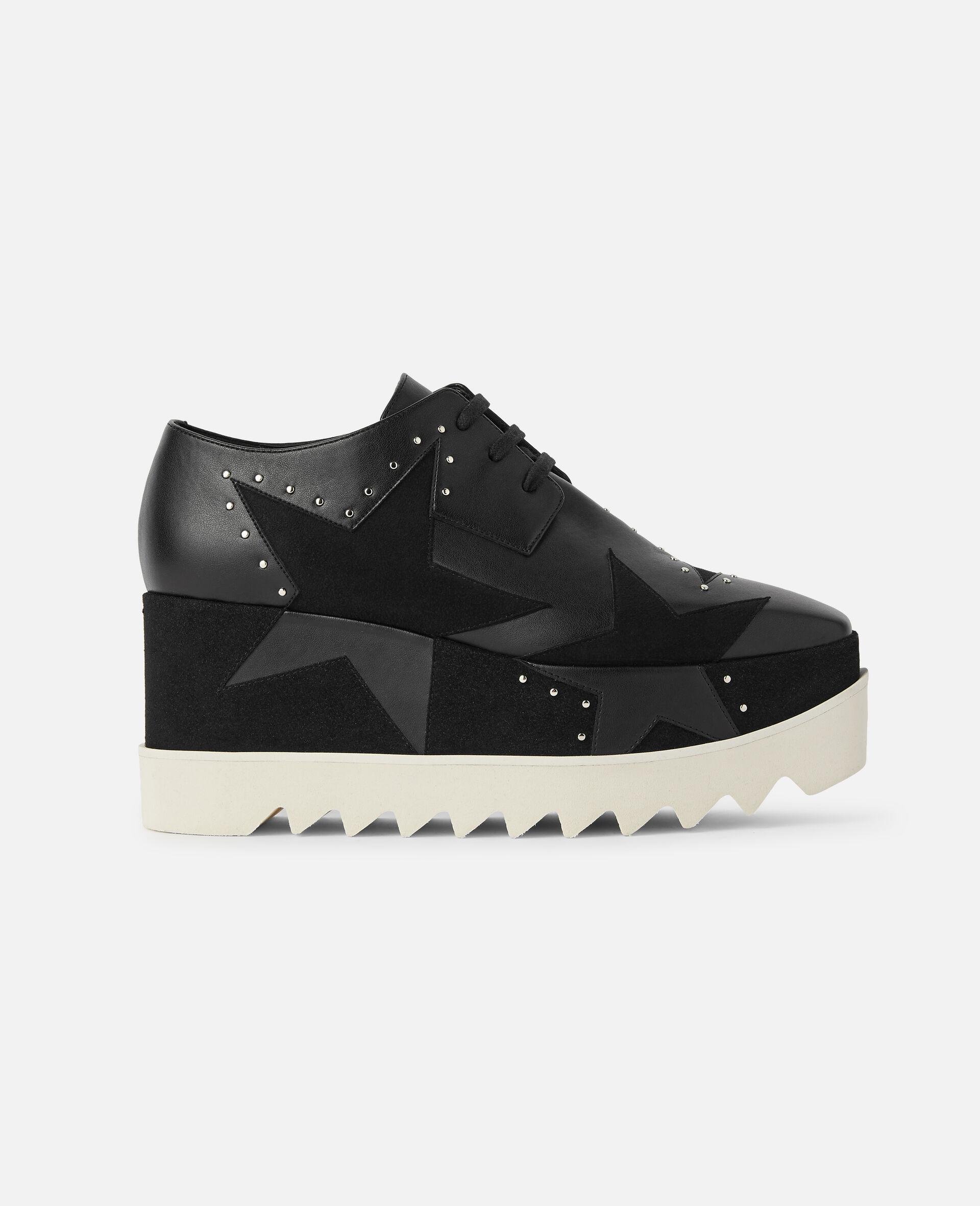 Chaussures compensées Elyse -Noir-large image number 0