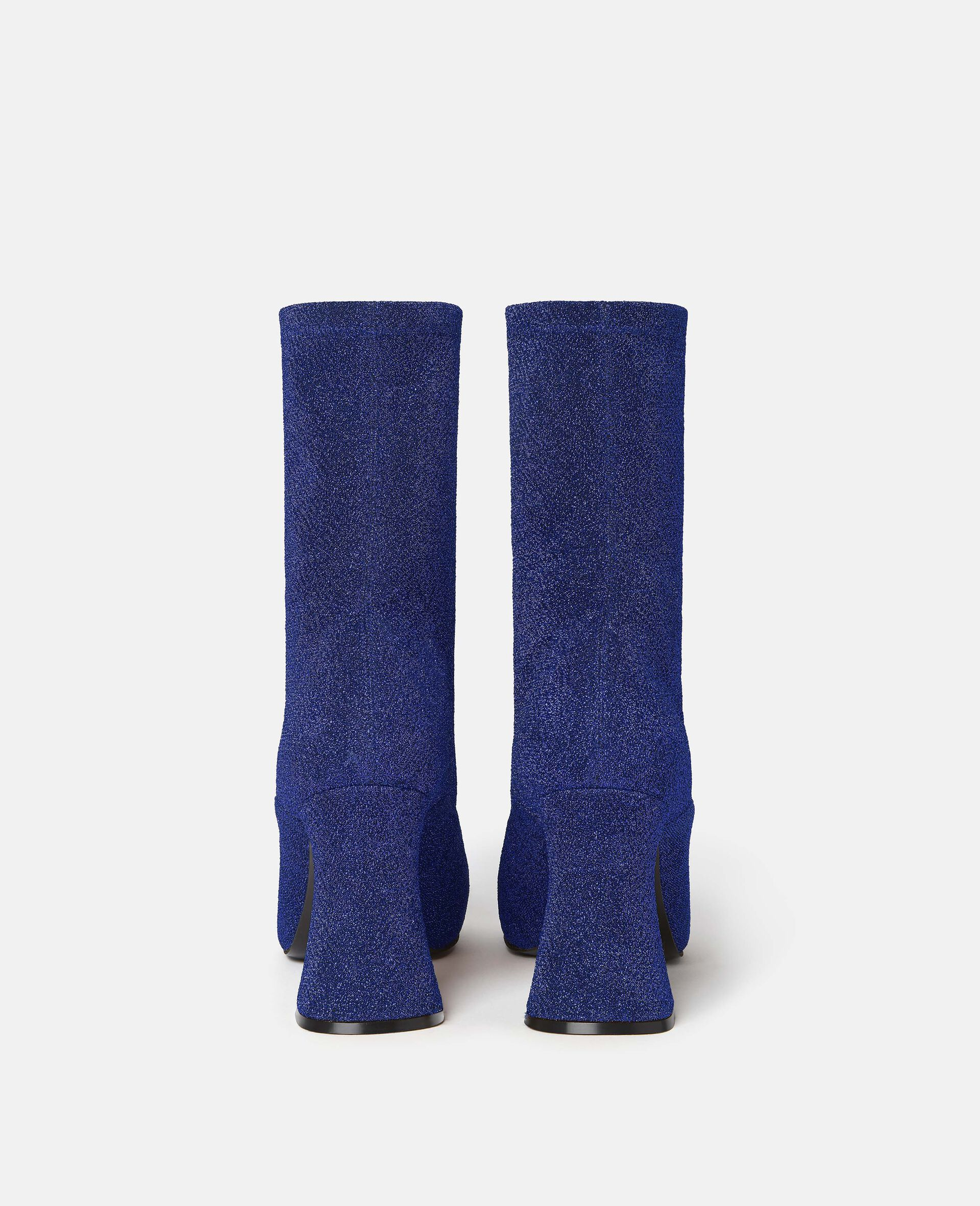 Duck City Glitter Ankle Boots -Blue-large image number 1