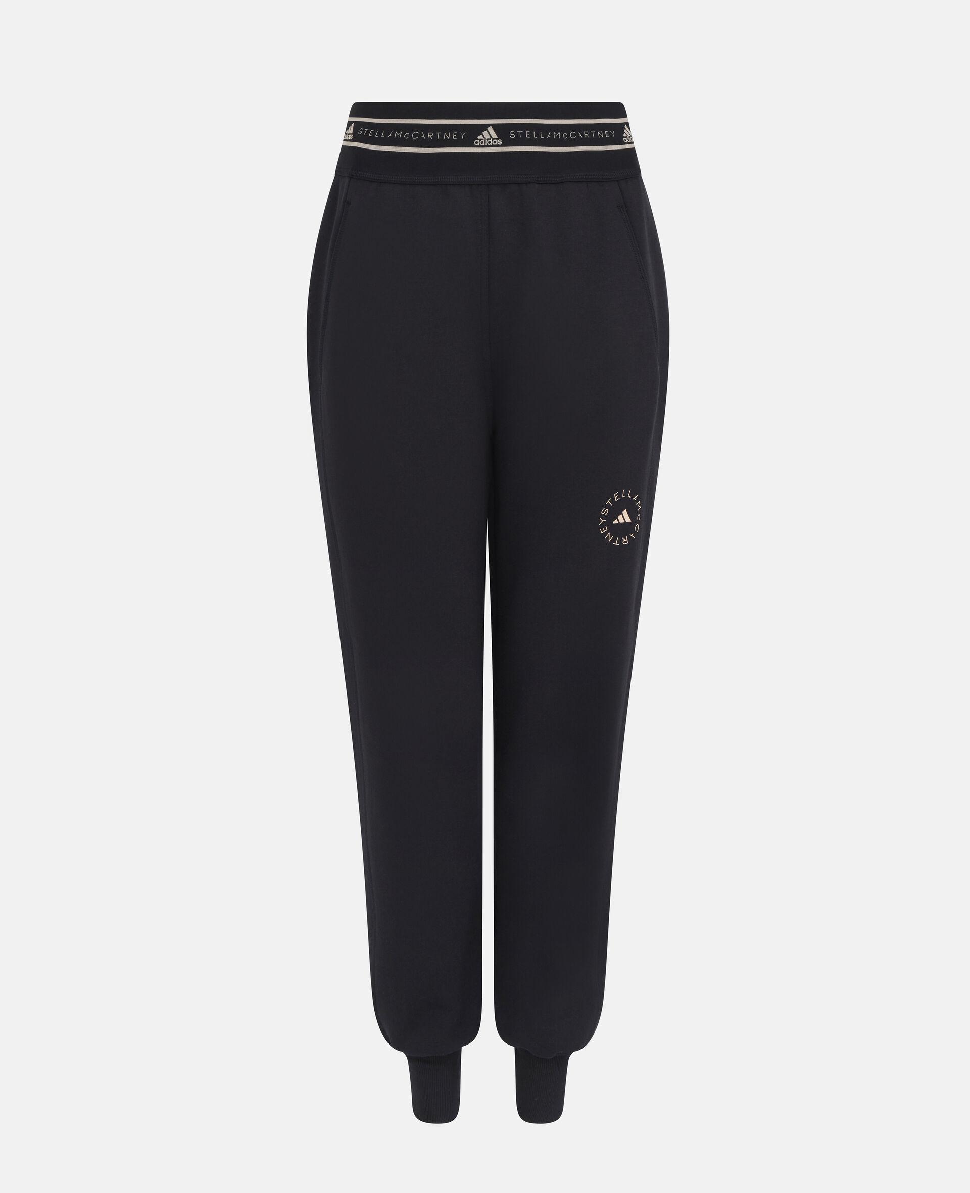 Black Training Sweatpants-Black-large image number 0