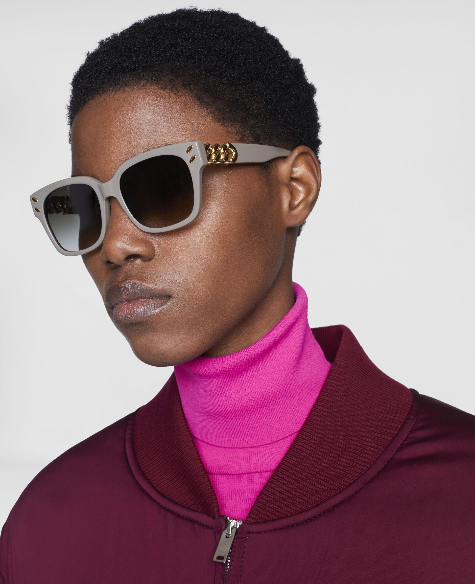 Geometric Sunglasses-Black-large image number 2