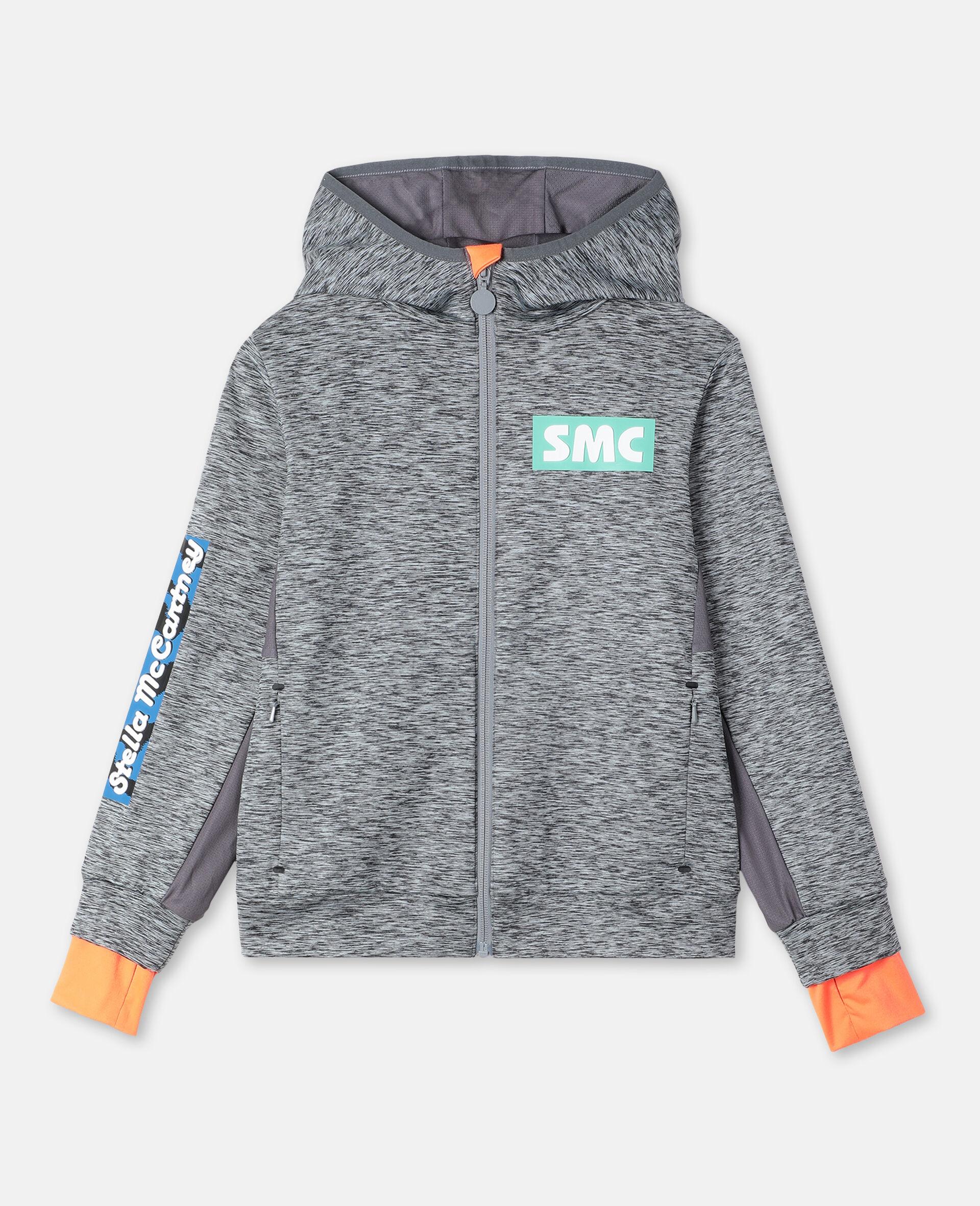 Space Dye Active Hoodie-Grey-large image number 0