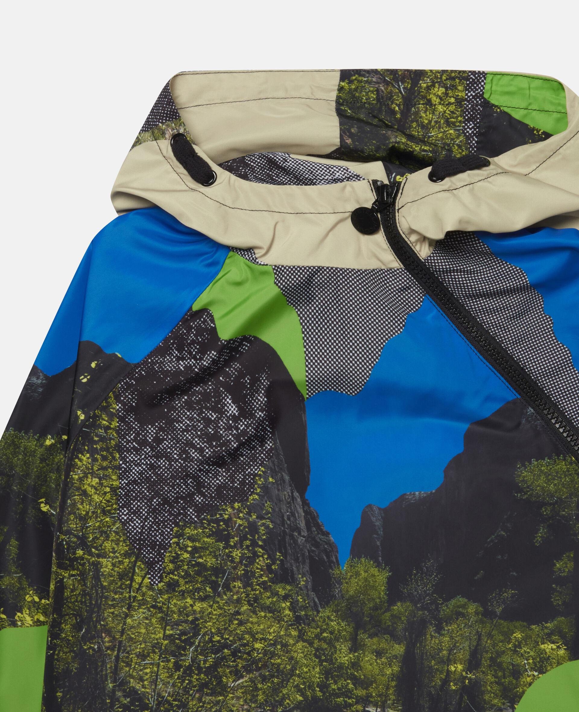 Landscape Hooded Jacket-Multicolour-large image number 1