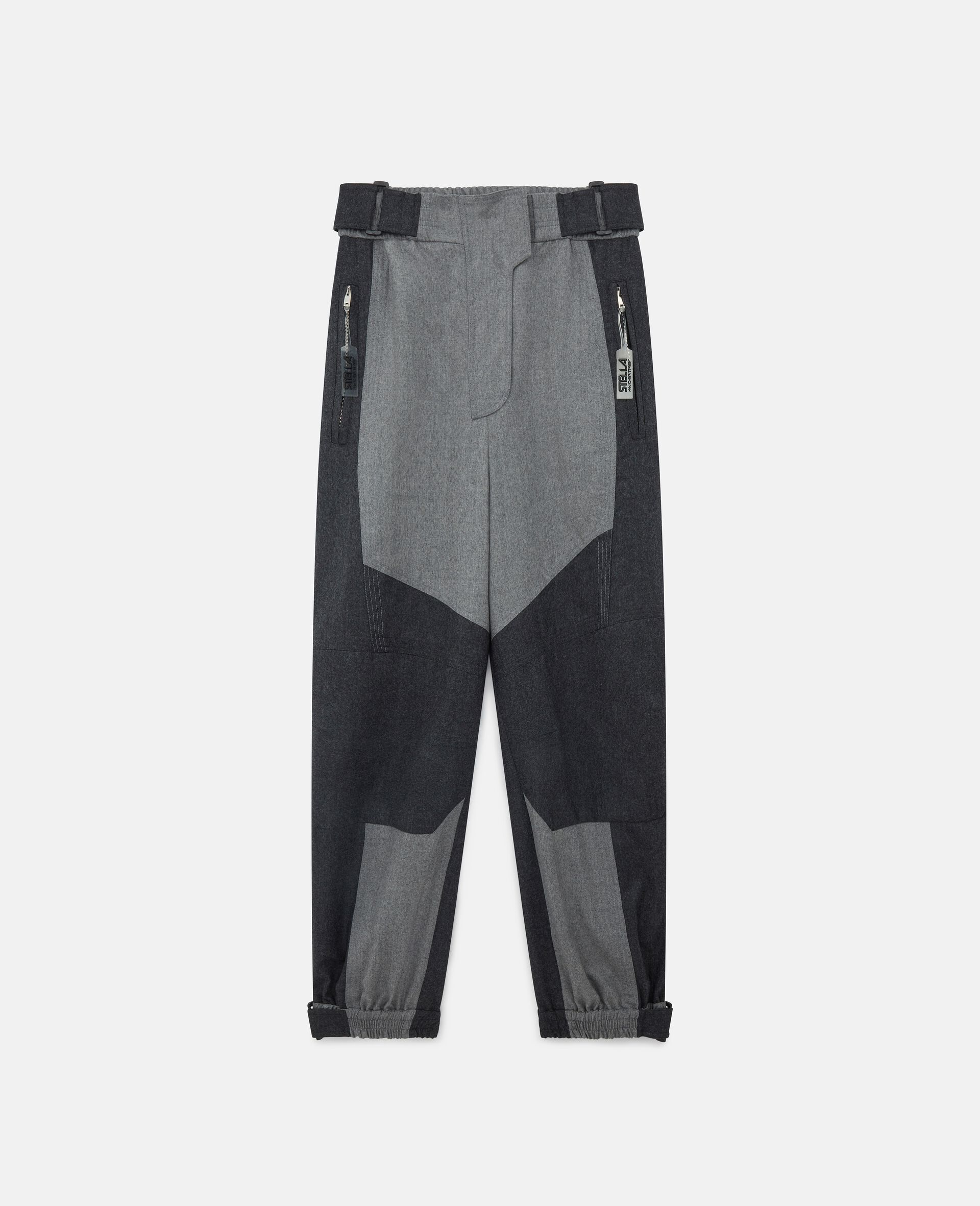 Pantaloni Lacey in Lana-Beige-large image number 0