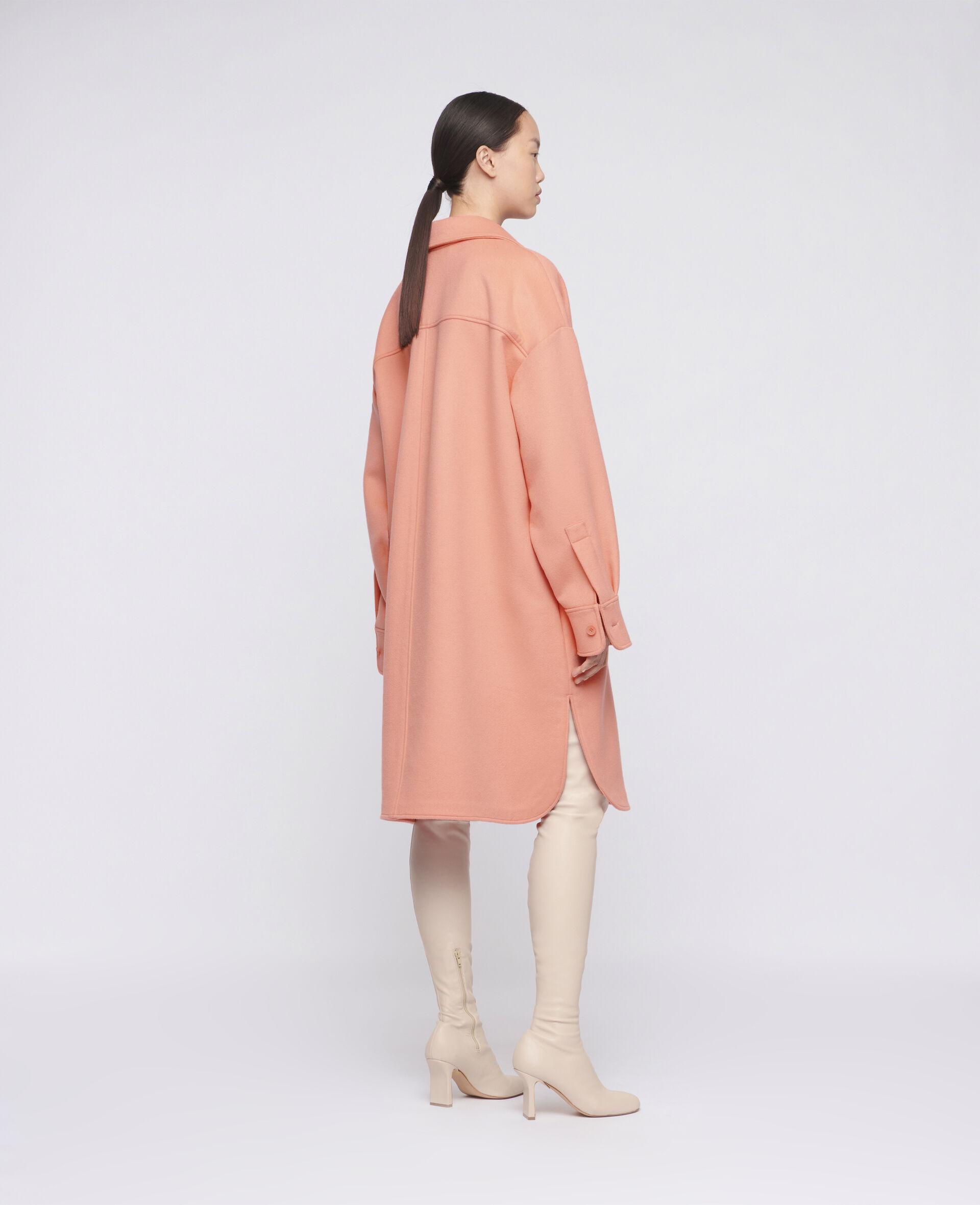 Linda Wool Coat -Orange-large image number 2