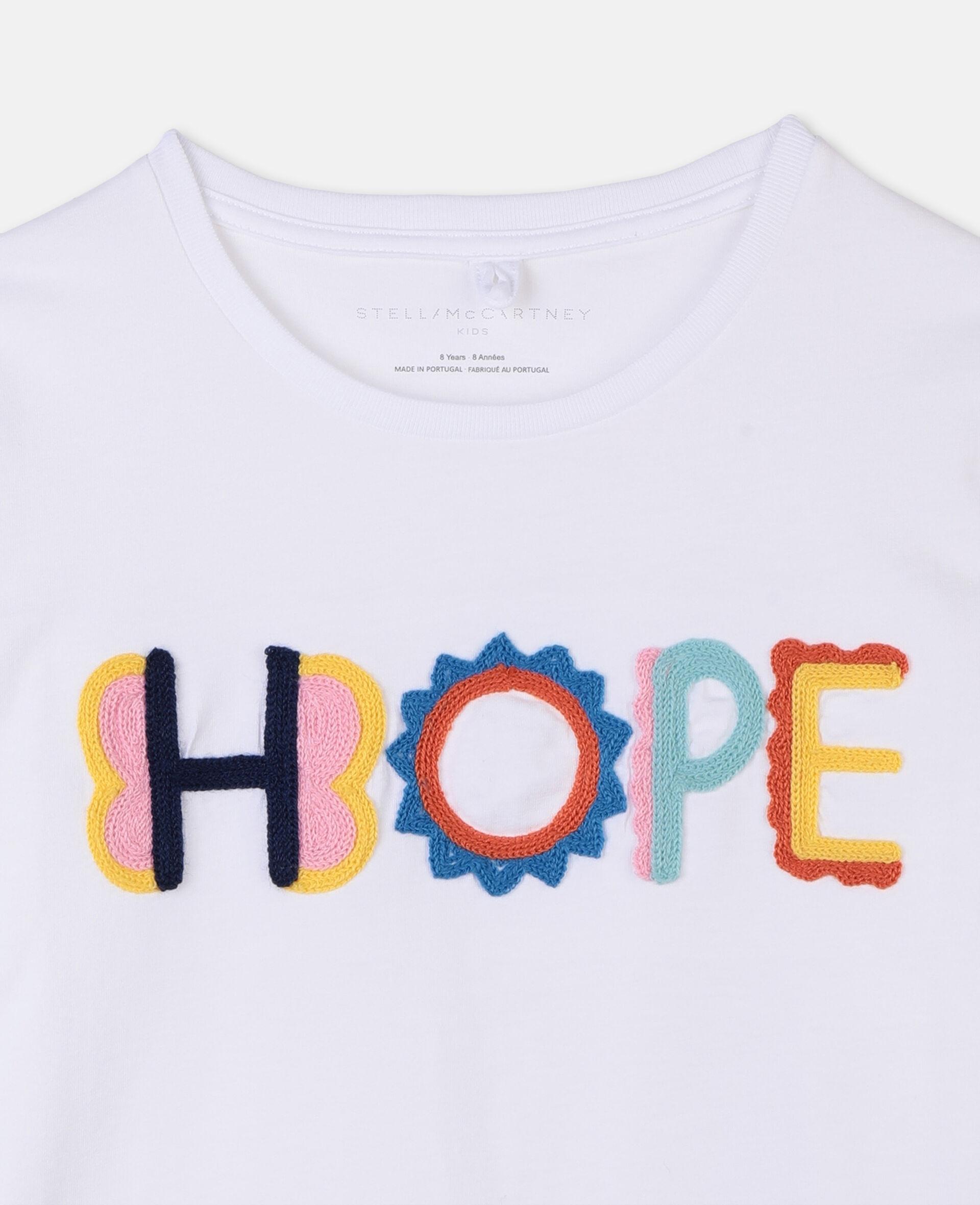 Hope棉质 T 恤-白色-large image number 1