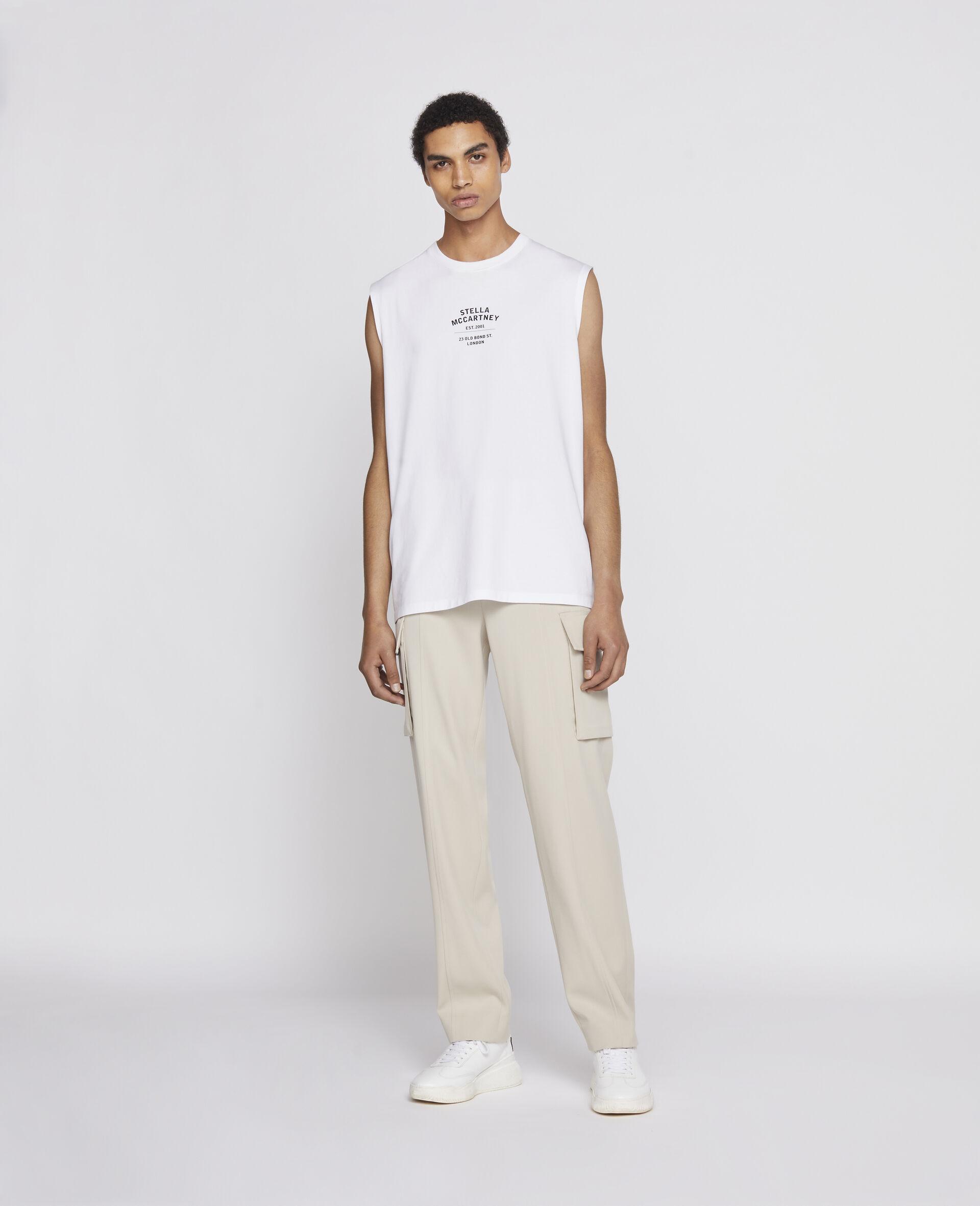 T-Shirt Senza Maniche 23 OBS-Nero-large image number 3