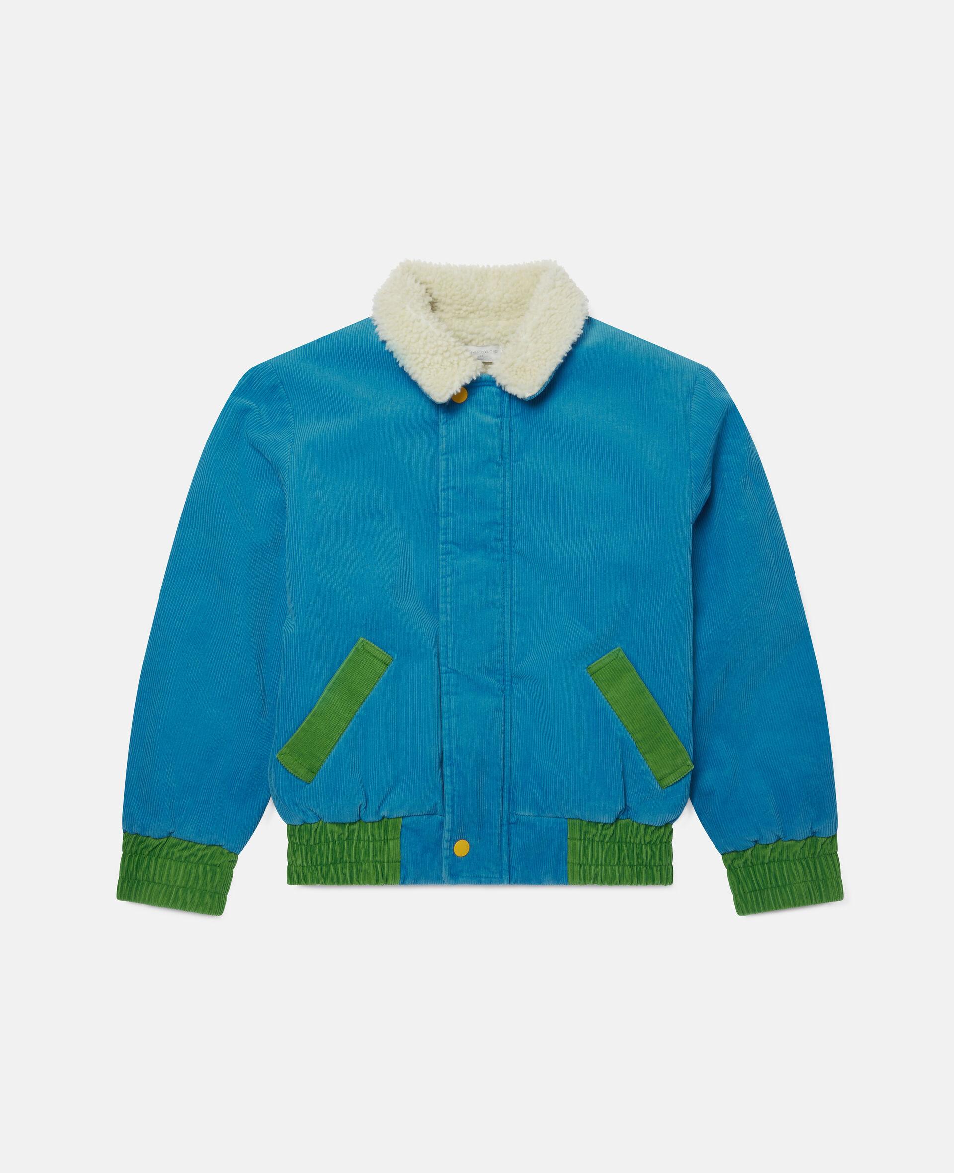 Corduroy Jacket-Blue-large image number 0