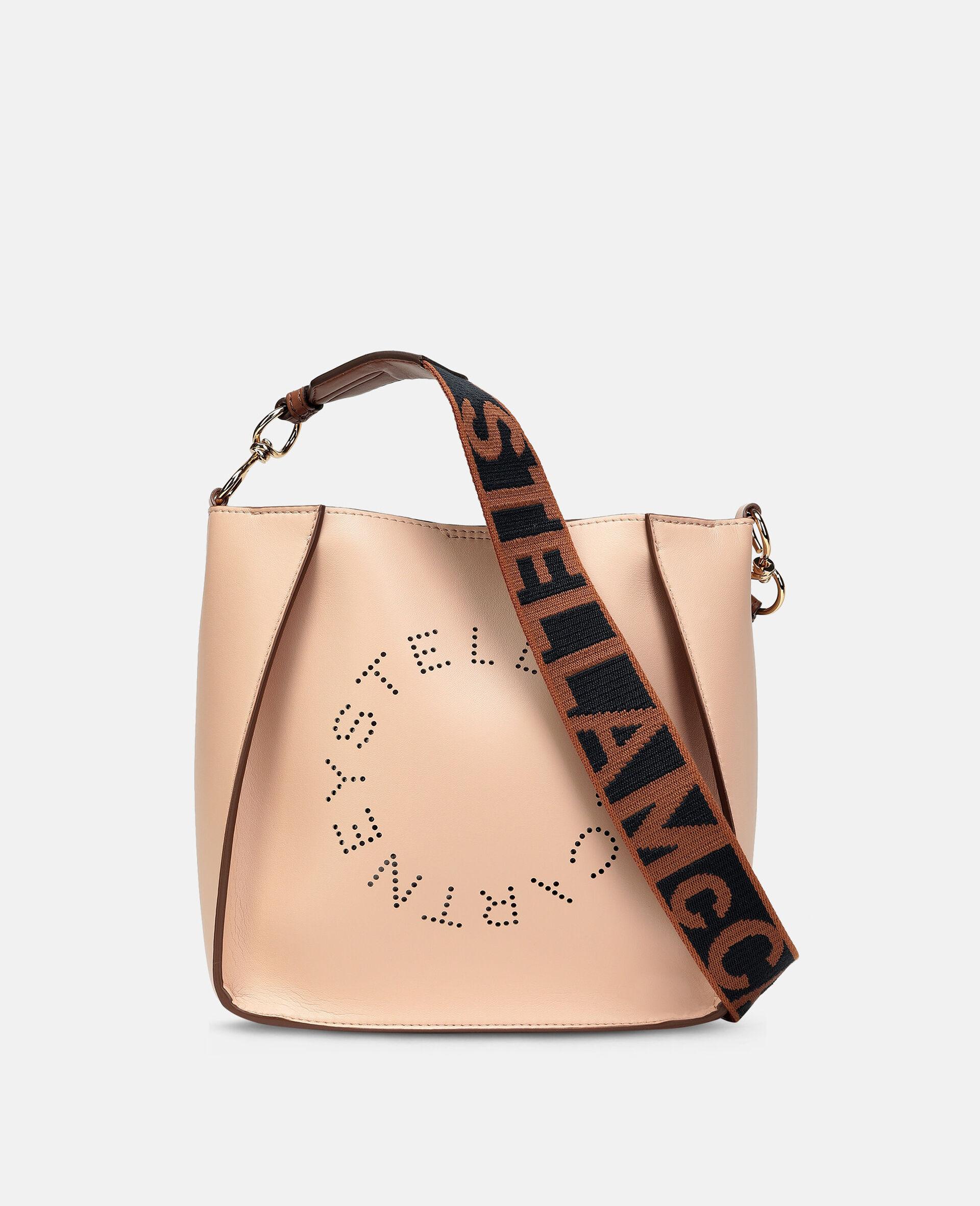 Stella Logo Shoulder Bag-Pink-large image number 0