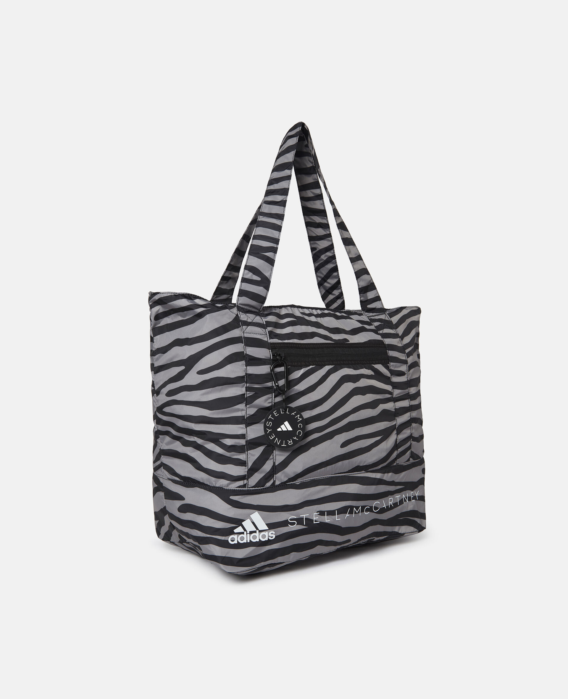 Printed Tote Bag-Multicolour-large image number 3