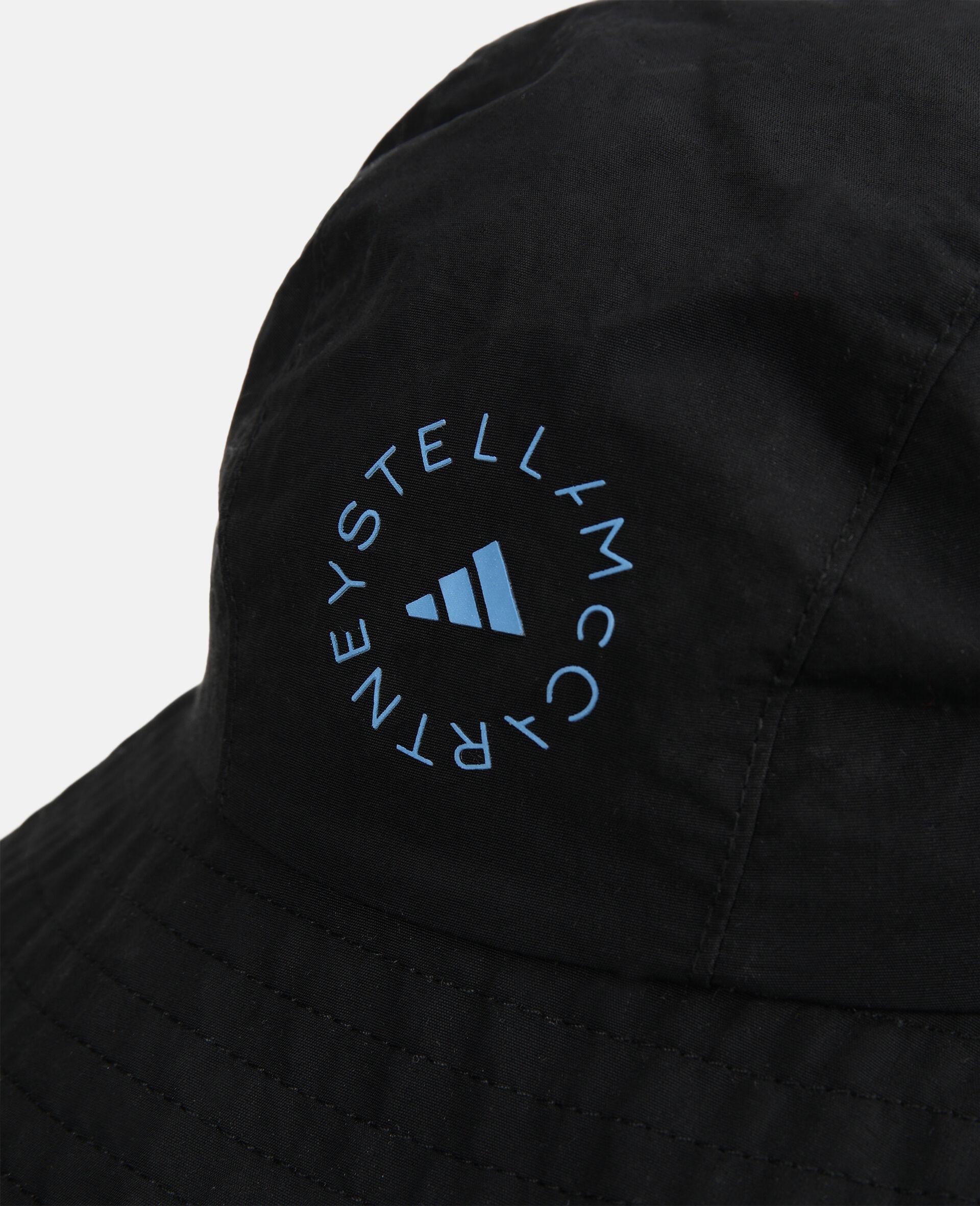 Black Bucket Hat -Black-large image number 2
