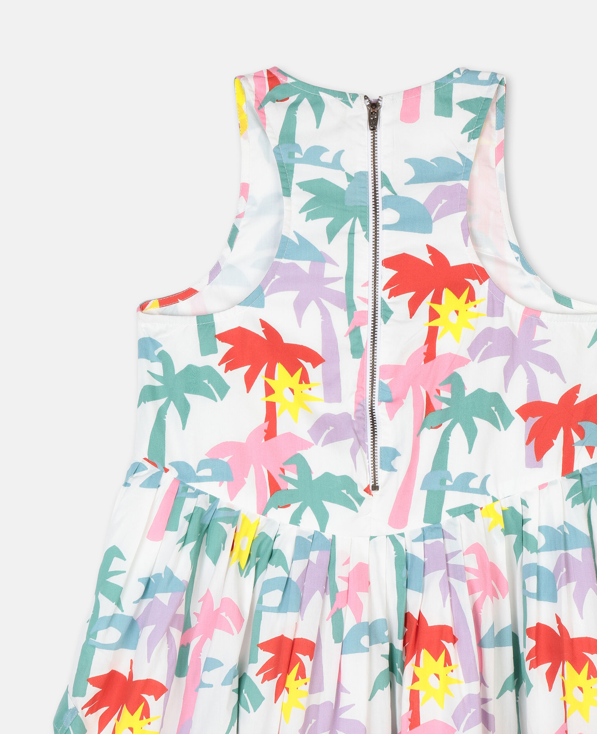 Palms棉质连衣裙-Multicolored-large image number 2