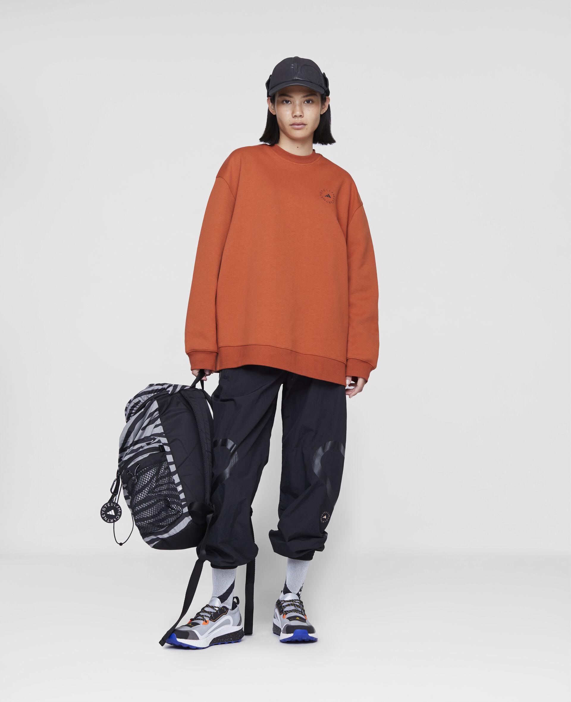 Burnt Brick Training Sweatshirt-Orange-large image number 1