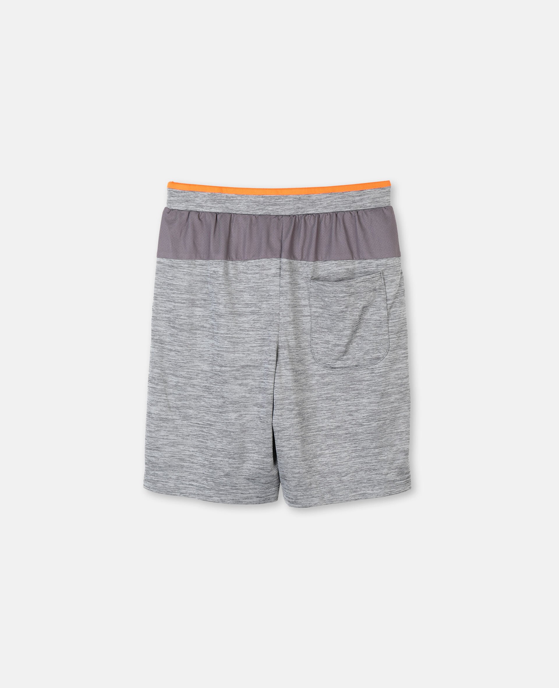 Space Dye Active Shorts -Grey-large image number 3