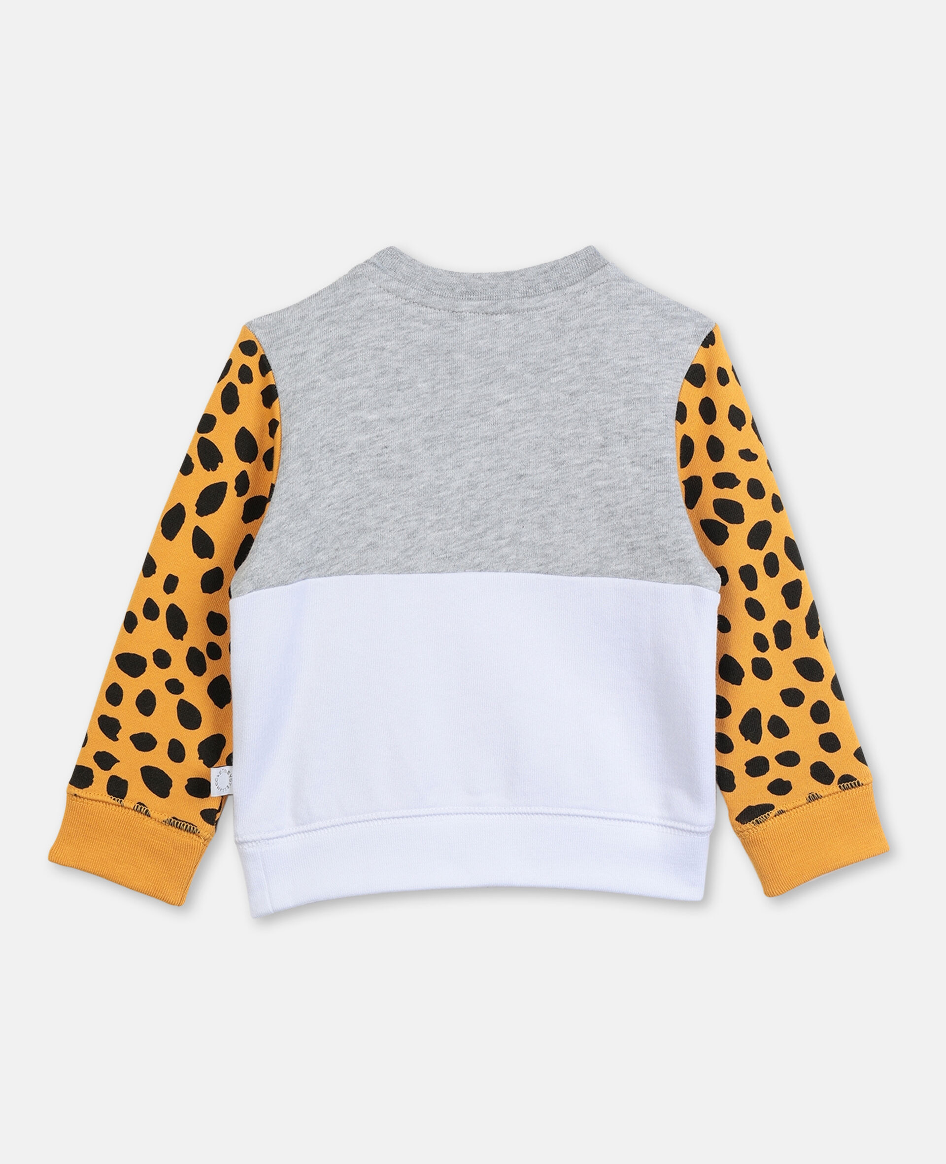 Tiger Cotton Sweatshirt-Grey-large image number 3