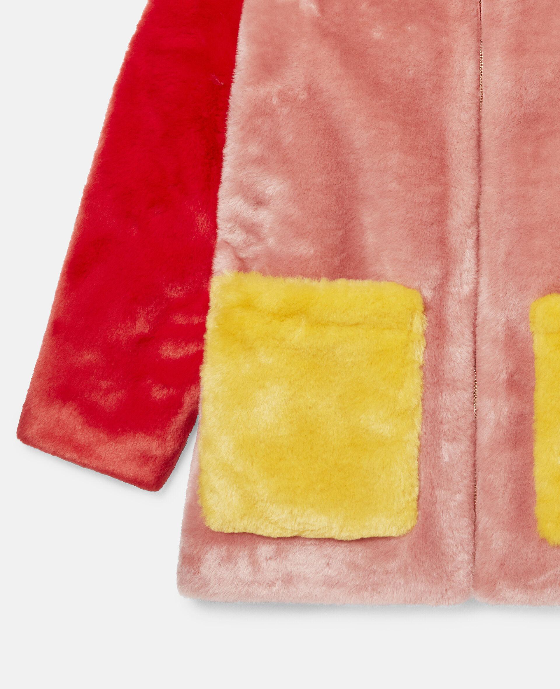 Mantel im Blockfarben-Design aus FFF-Bunt-large image number 1