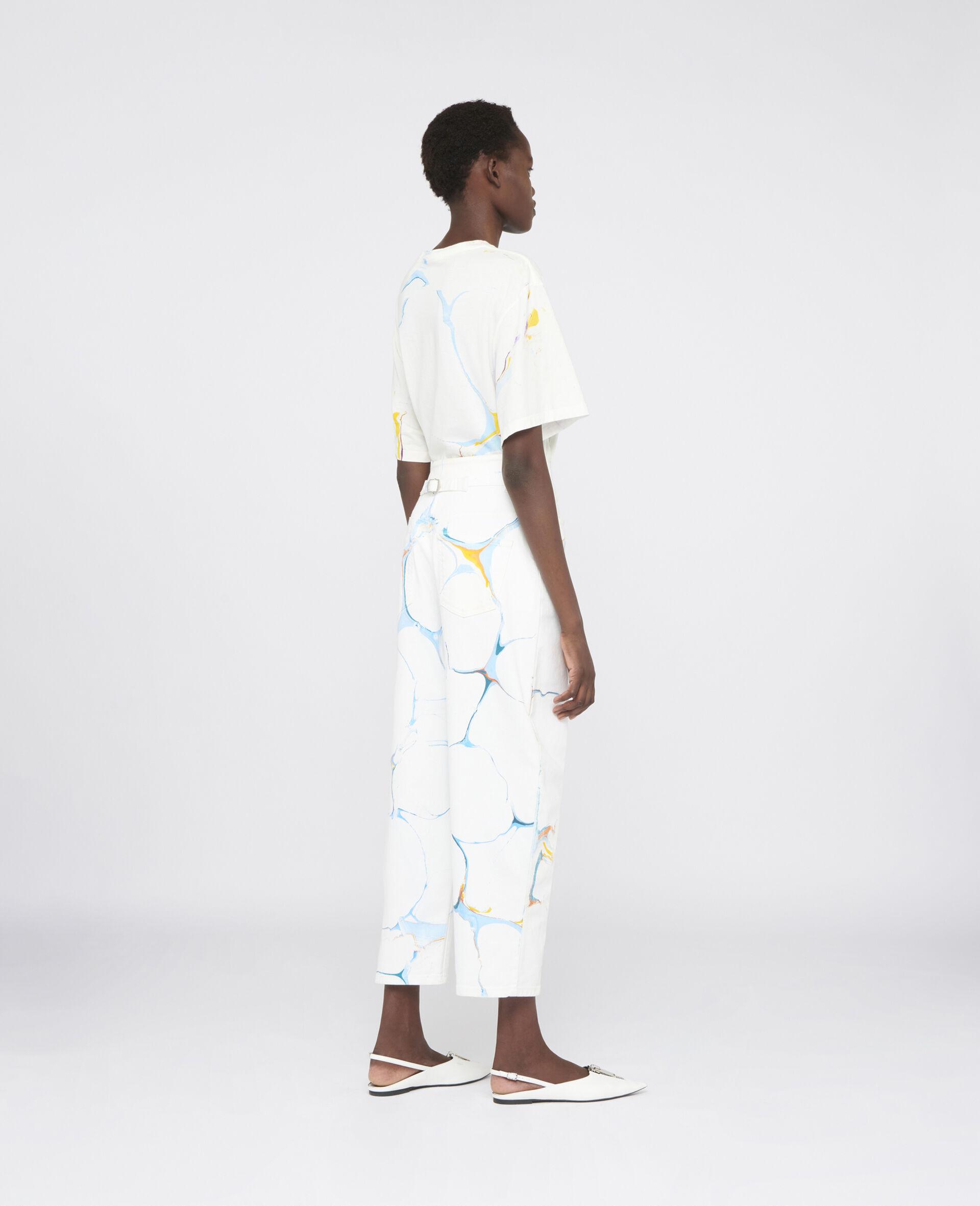 直筒牛仔裤-Multicolored-large image number 2