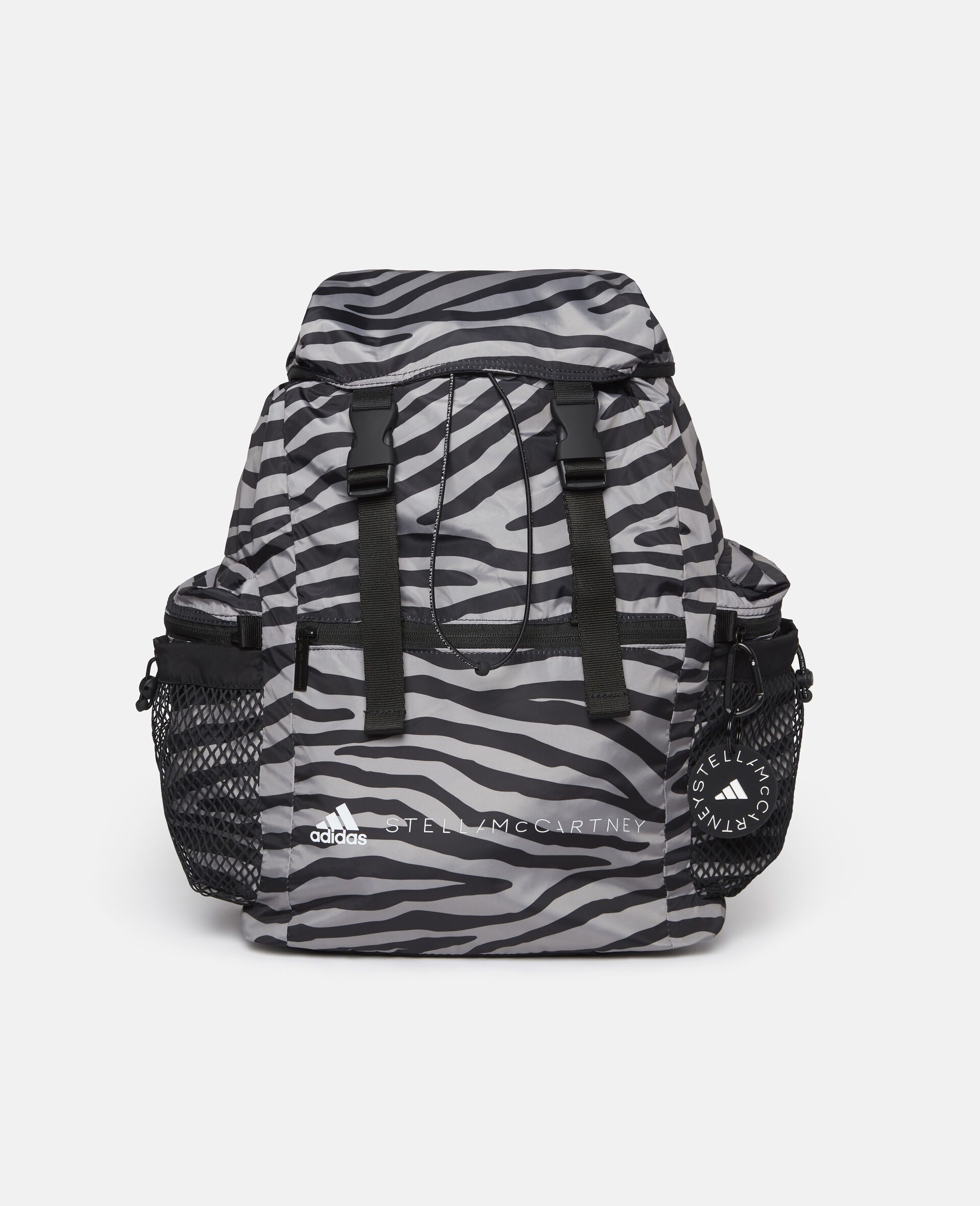Printed Backpack-Multicolour-large image number 2