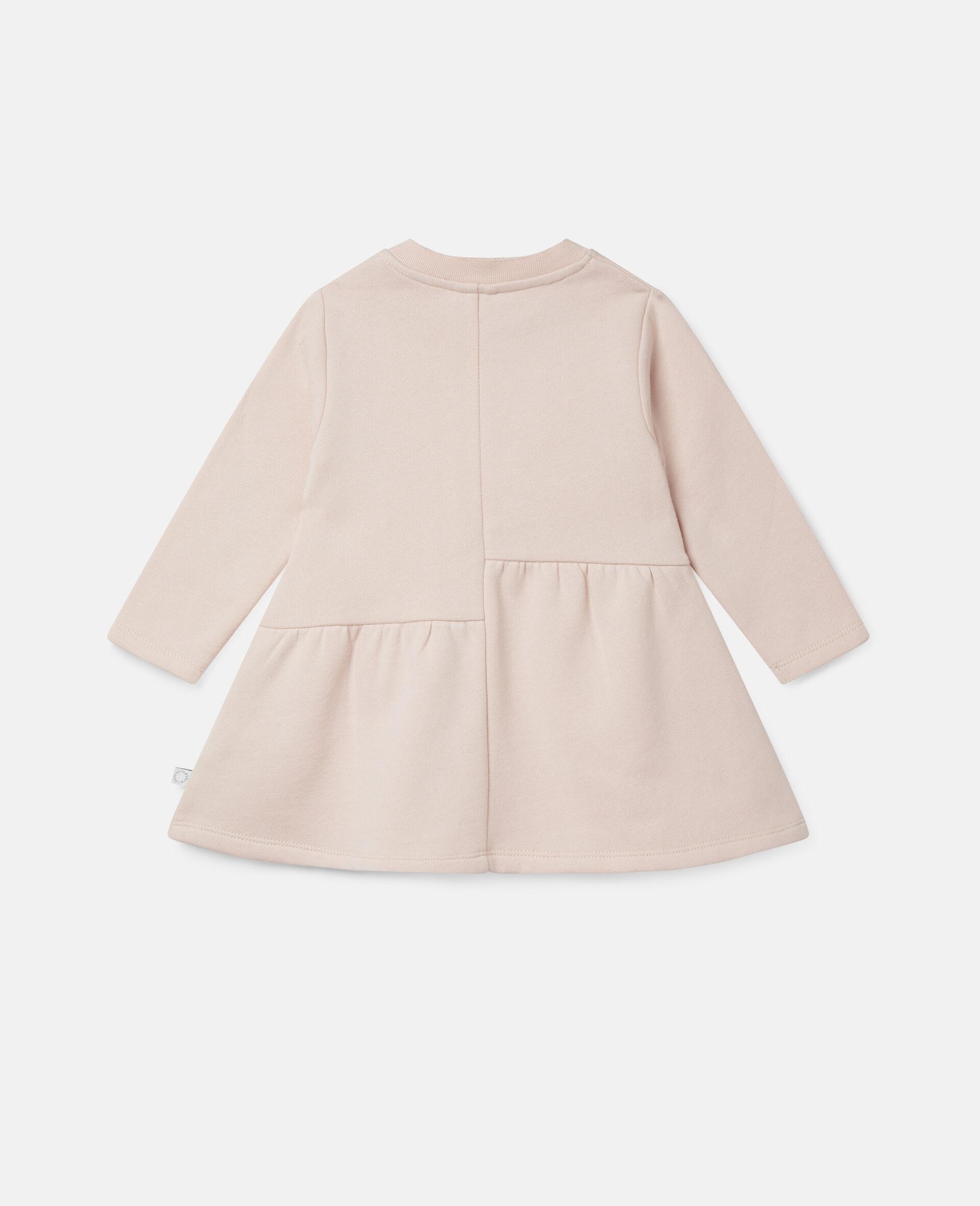 Love Poodles Fleece Dress-Pink-large image number 3