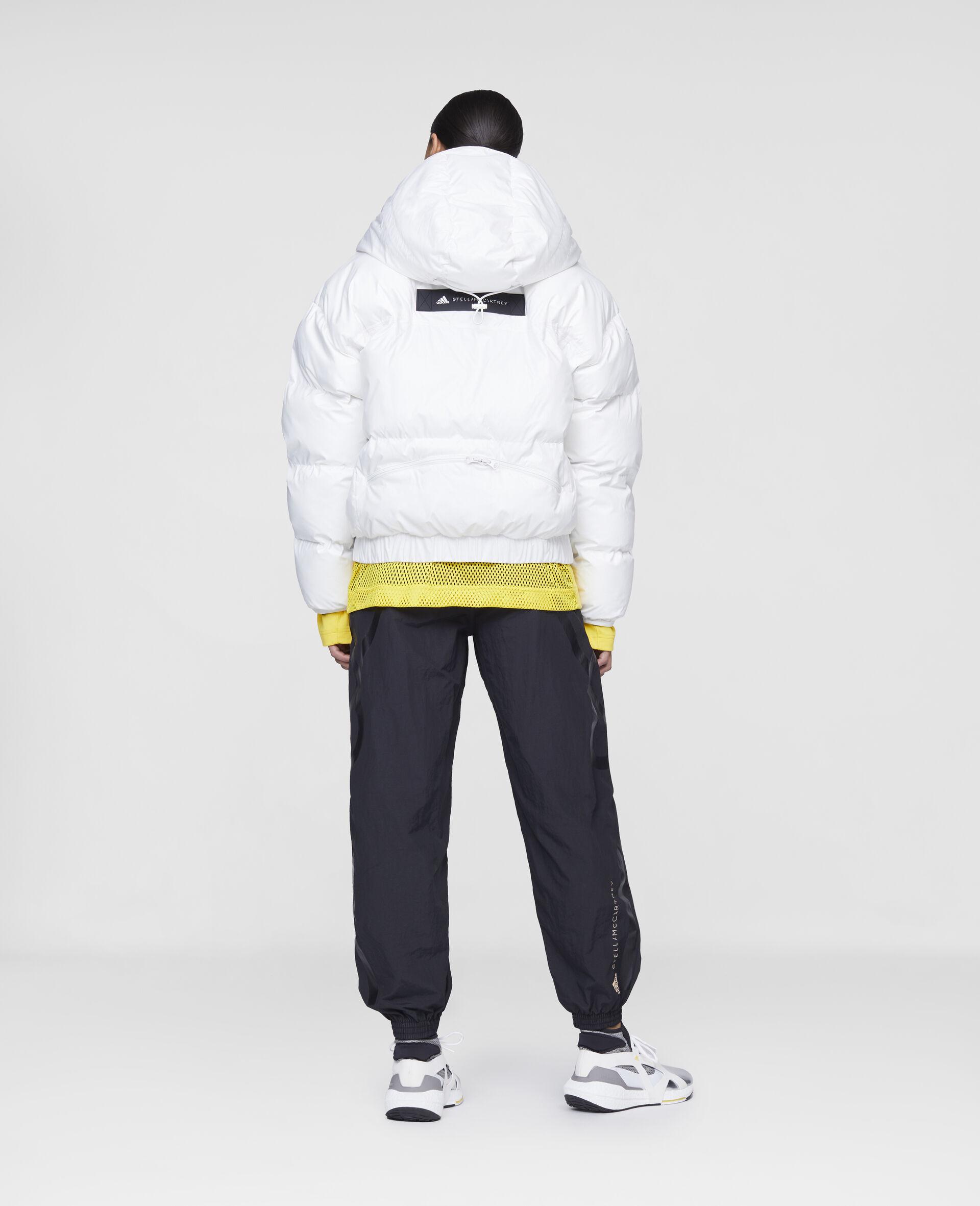 White Training Puffer Jacket-White-large image number 2