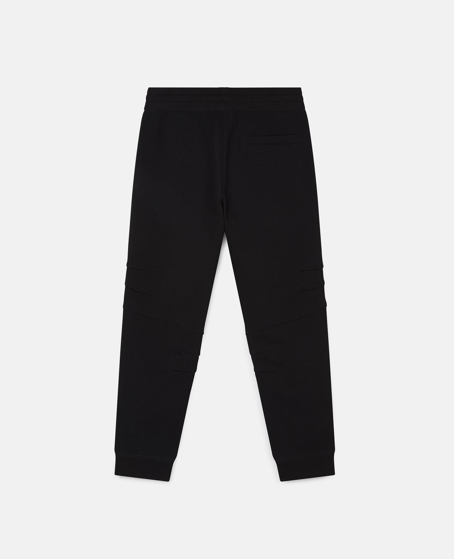 Fleece Joggers-Black-large image number 3