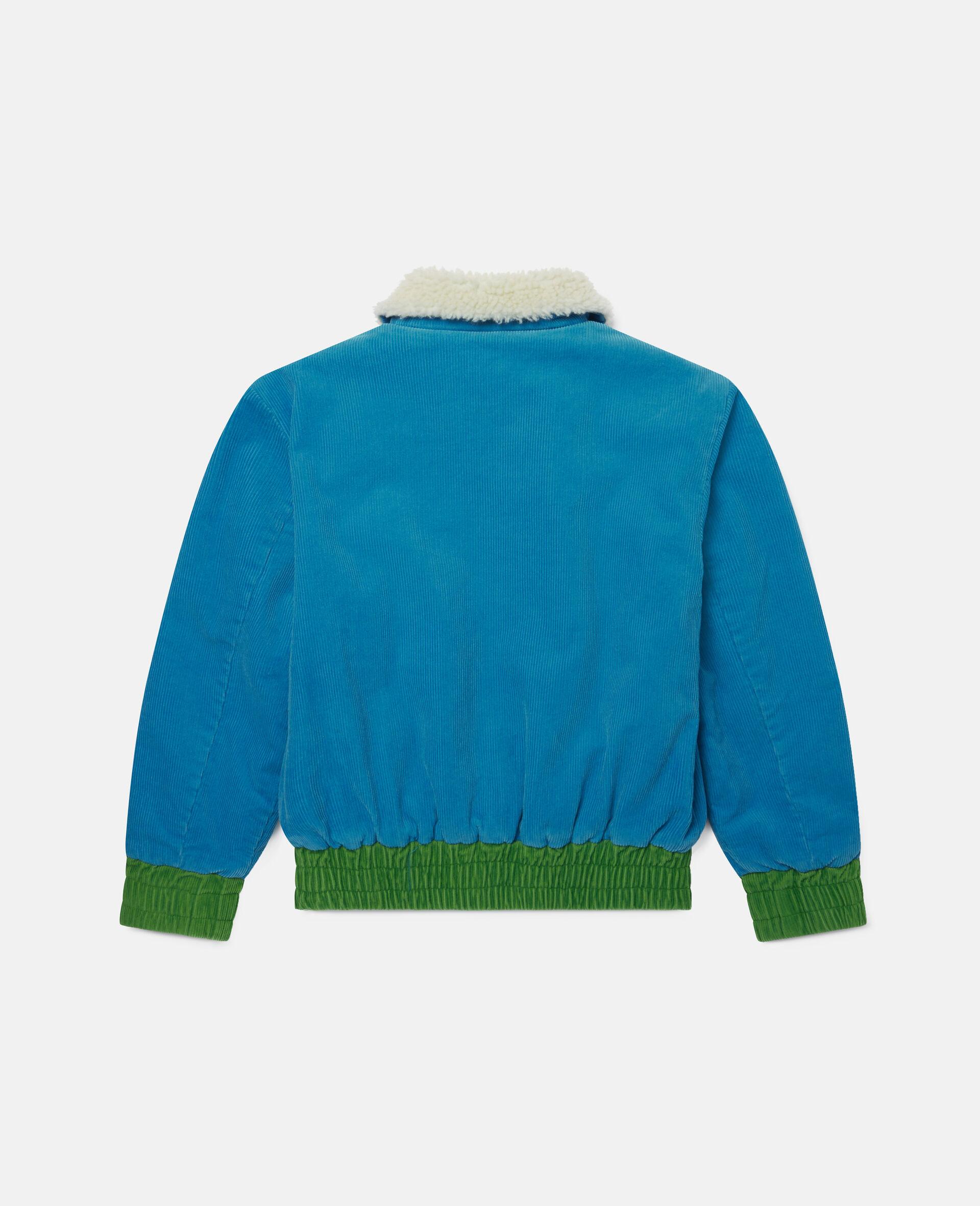 Corduroy Jacket-Blue-large image number 3
