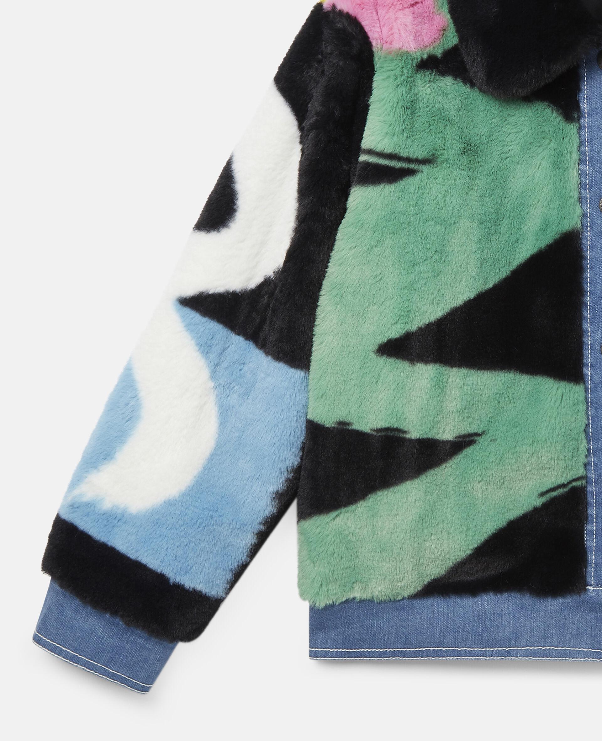 FFF & Denim Jacket -Multicolour-large image number 2