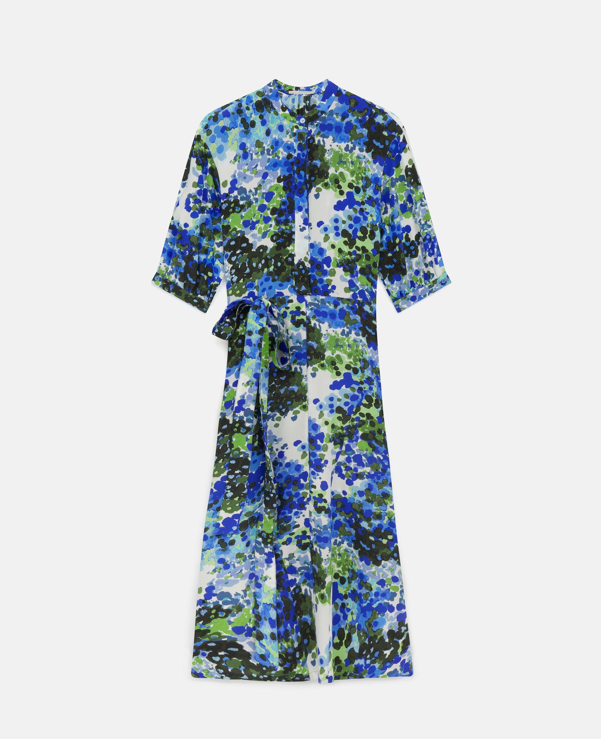 Olivia Silk Dress-Multicolour-large image number 0