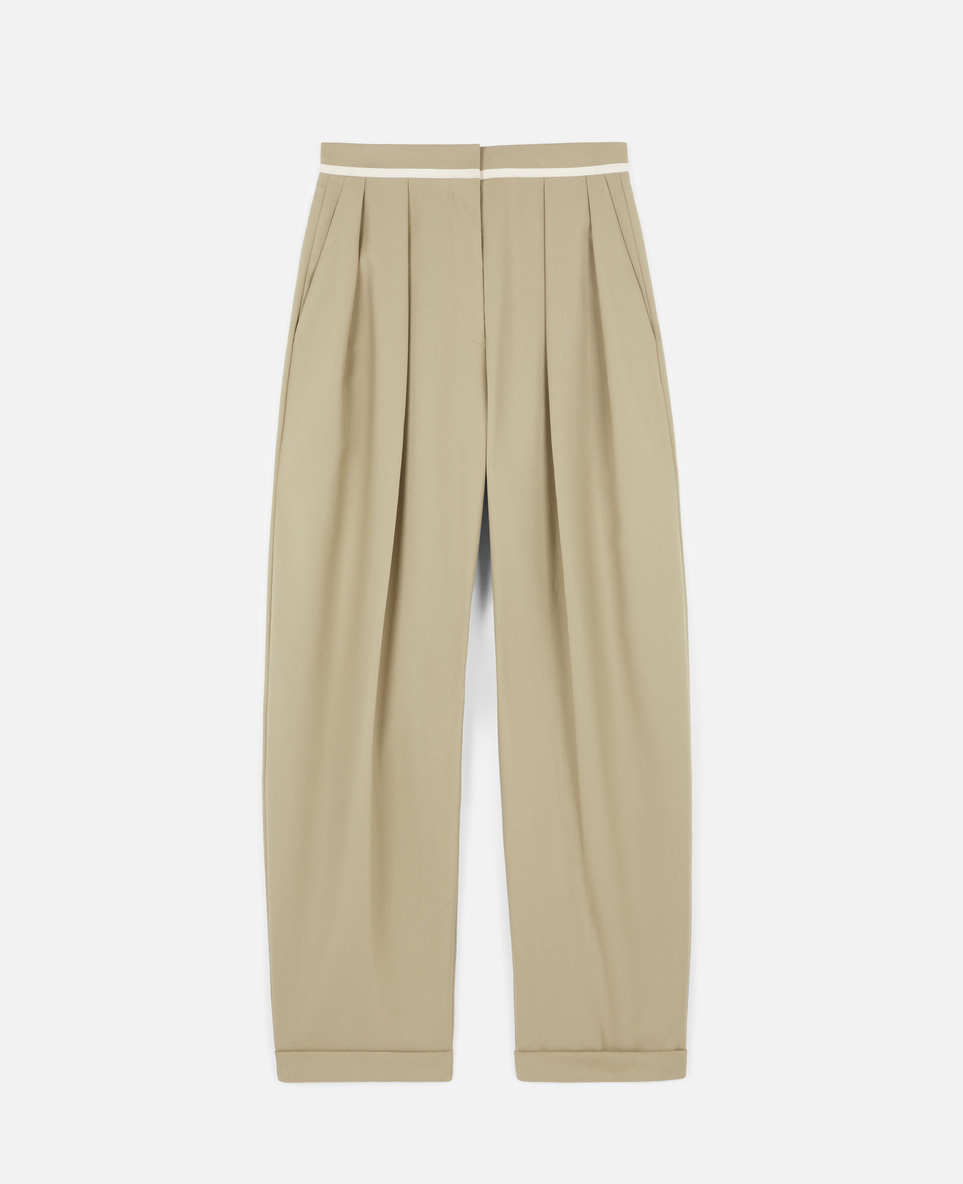 Ariana Wool Trousers-Beige-large image number 0