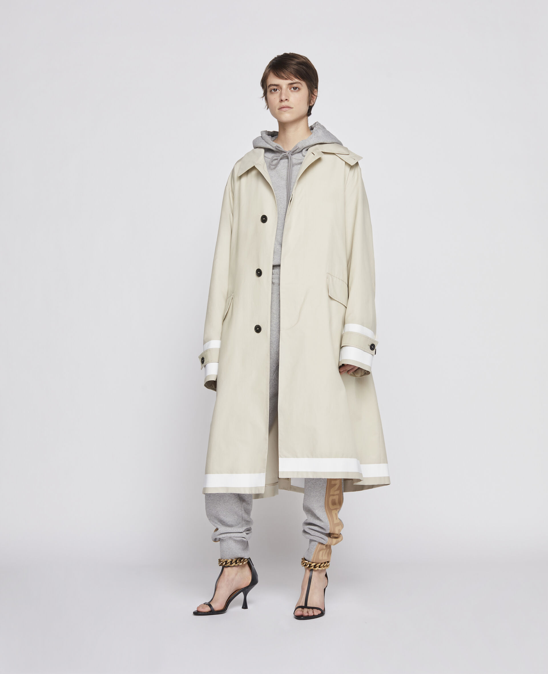 23 OBS Trench Coat -Beige-large image number 3