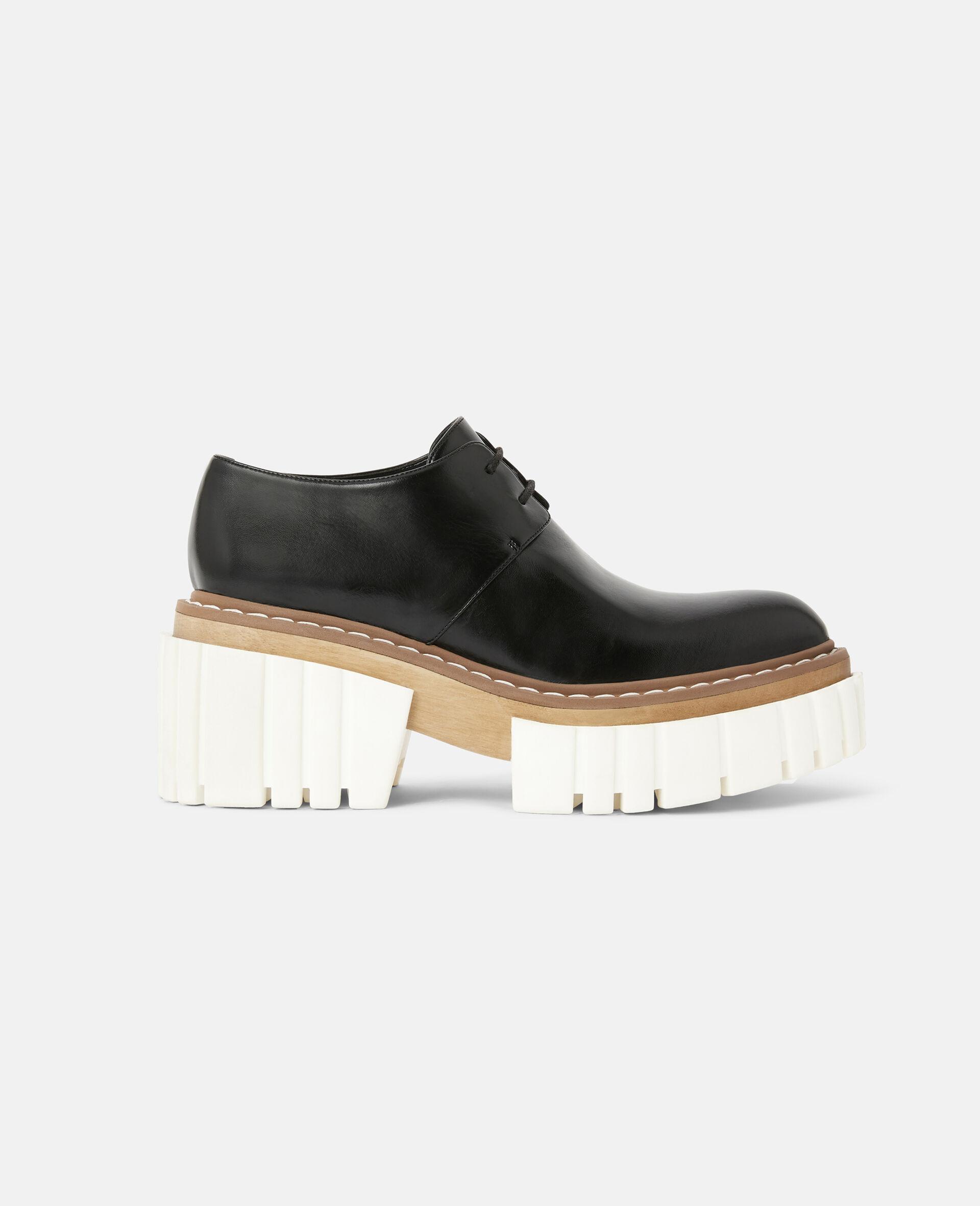 Chaussures à lacets Emilie-Noir-large image number 0