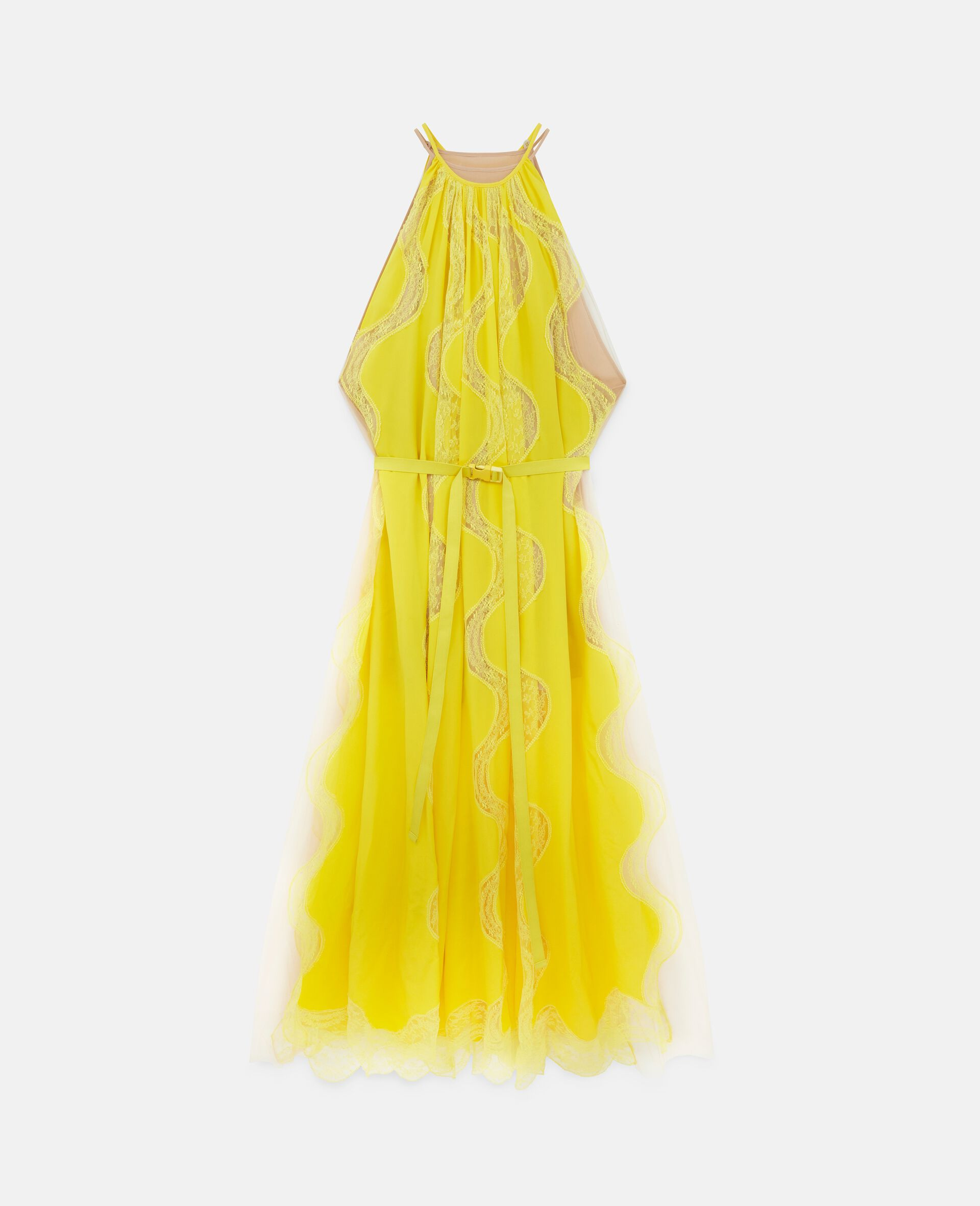Tiffany Lace Dress -Yellow-large image number 0