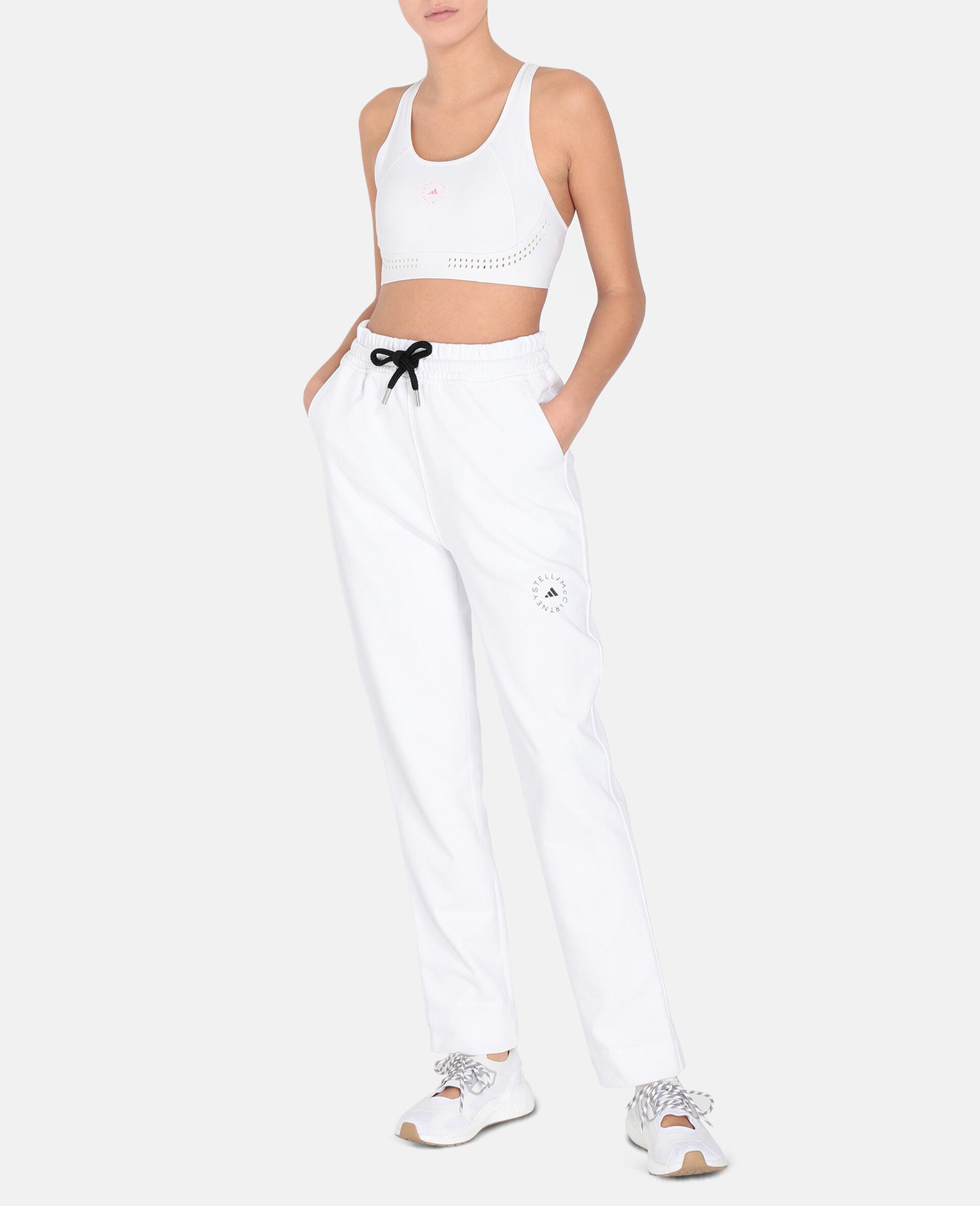 White Training Sweatpants -White-large image number 1