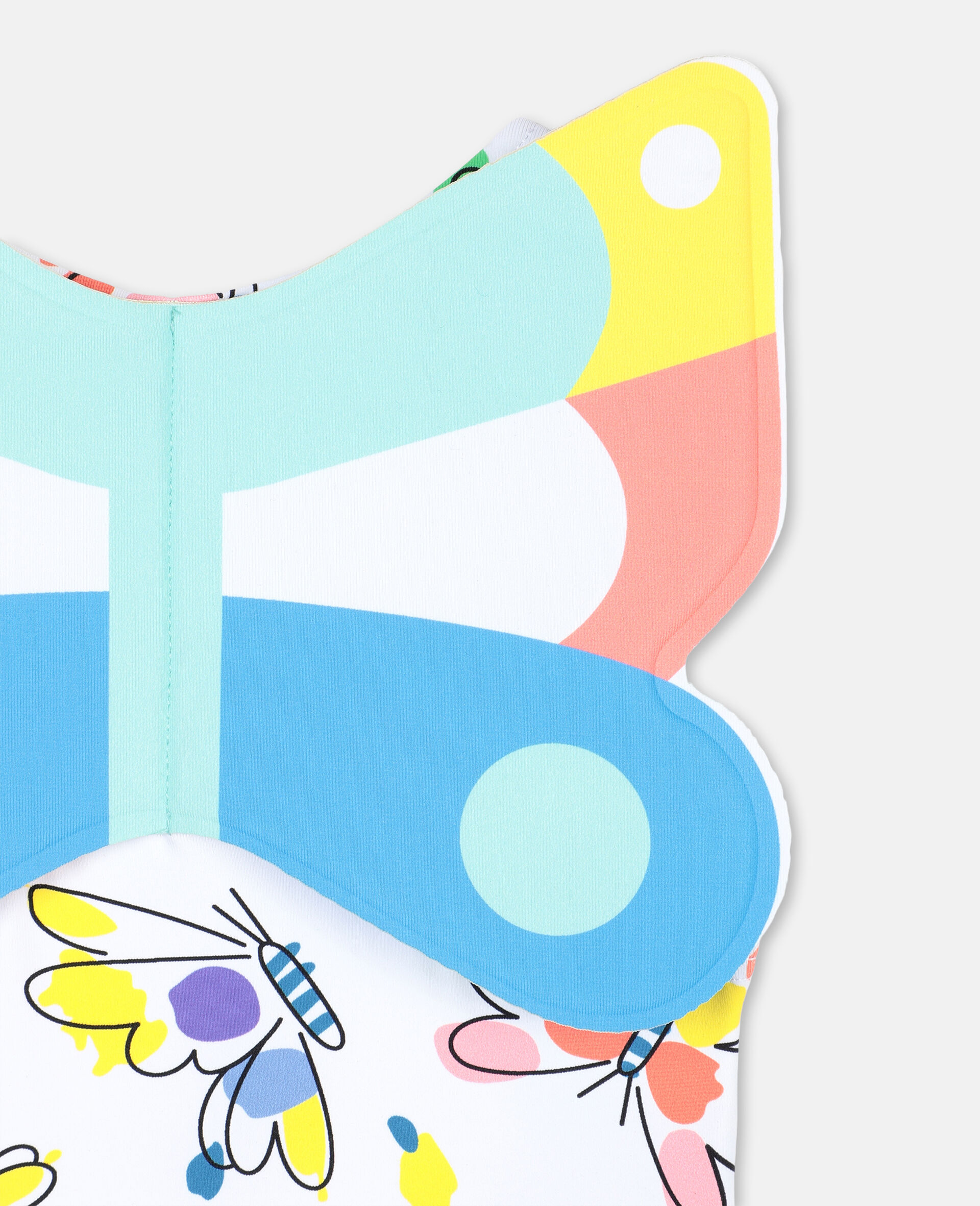 Baby Butterfly Swimsuit-Multicolour-large image number 2