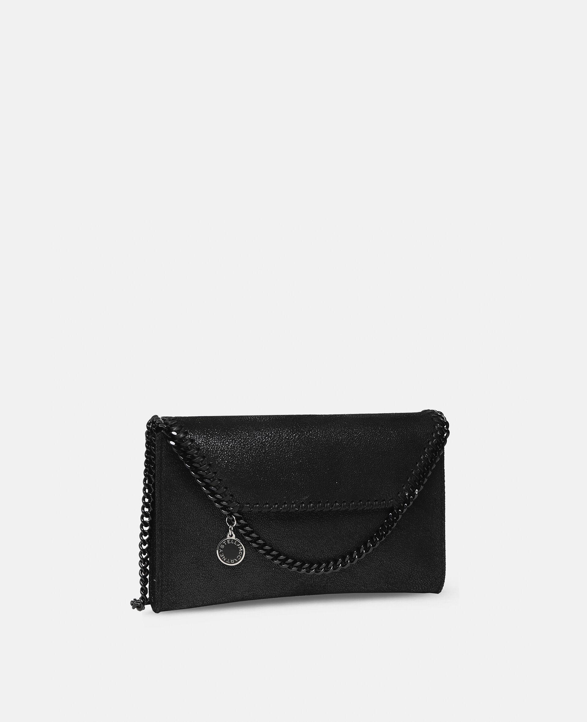 Mini-sac porté épaule Falabella-Noir-large image number 1